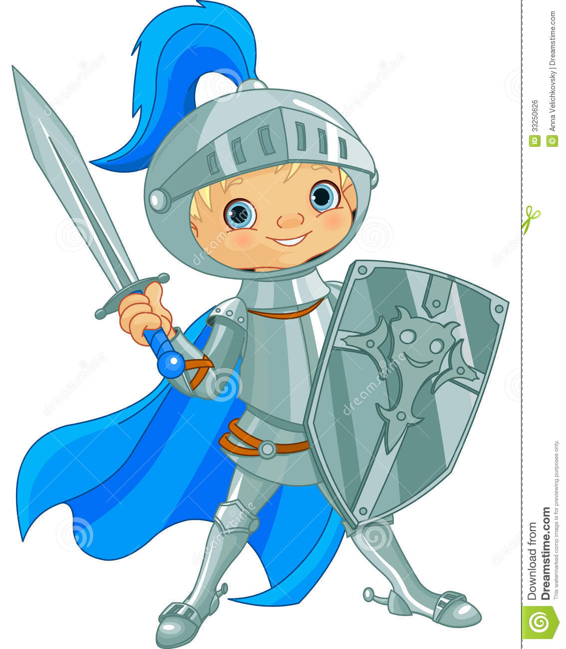 Fighting Brave Knight Royalty Free Stock Image - Image: 33250626