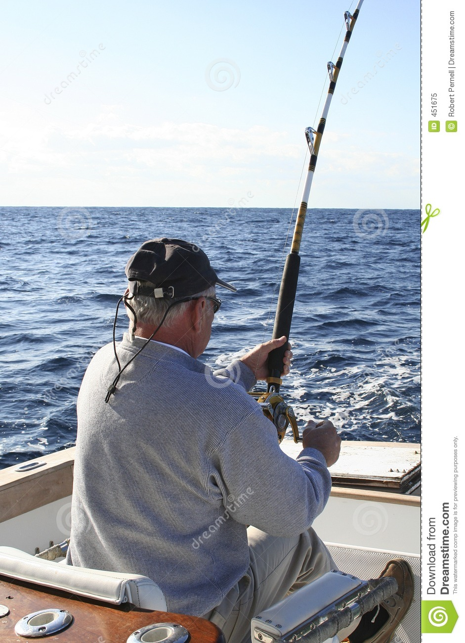 Download Fighting Chair stock image. Image of action, marlin, fighting - 451675