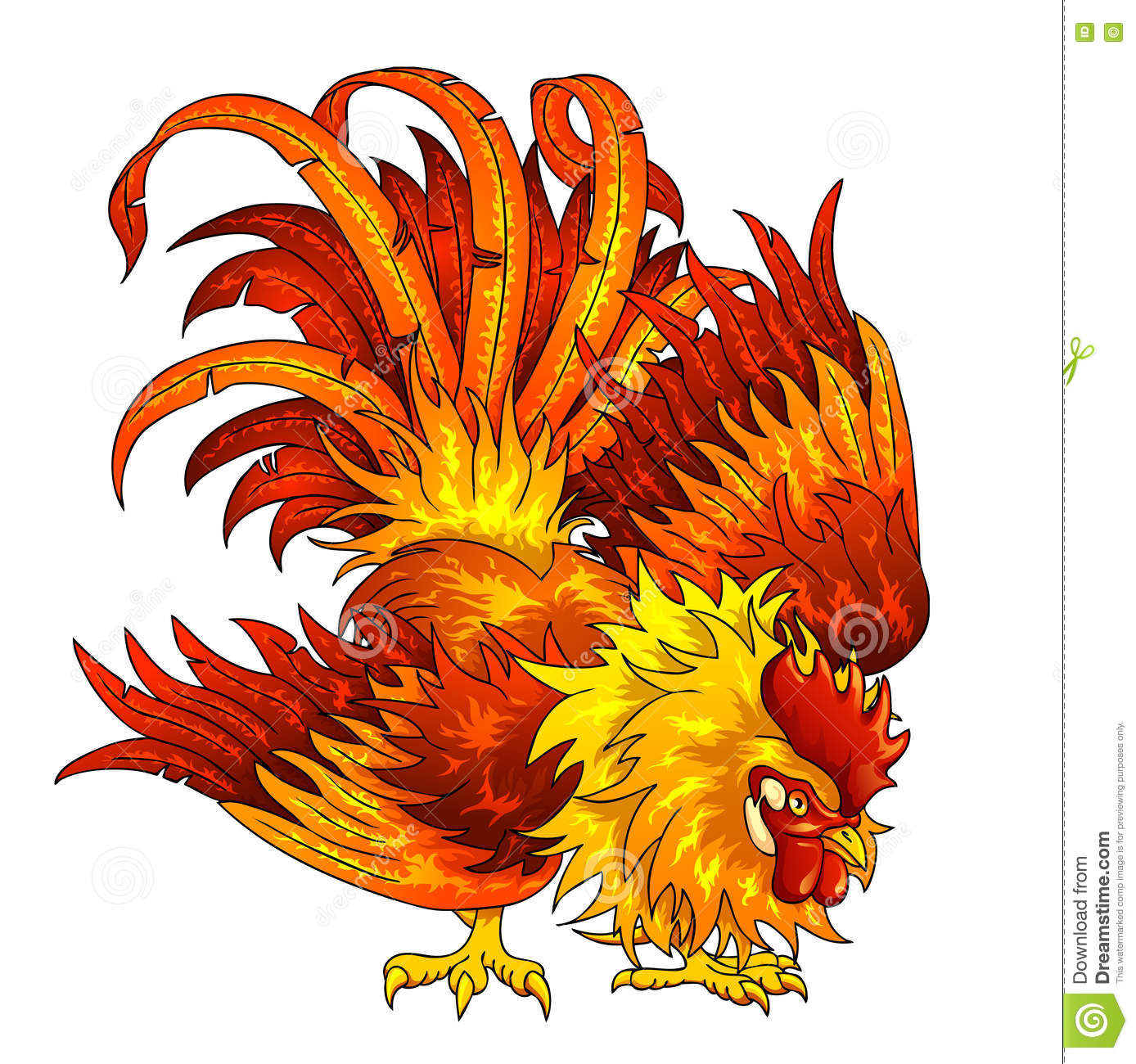 Fighting Rooster Stock Illustrations – 161 Fighting Rooster Stock ...