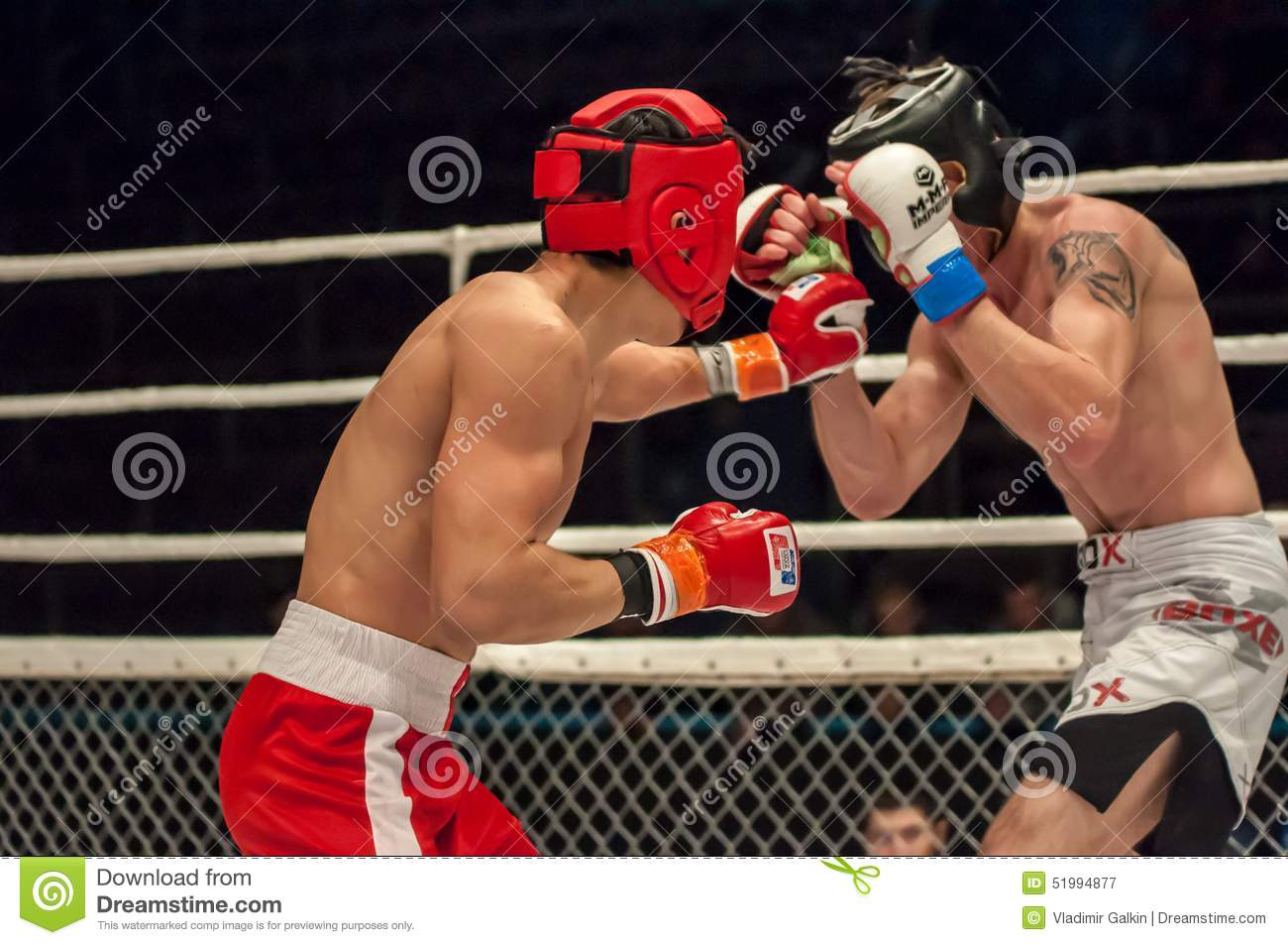 Fights Without Rules Or MMA Editorial Photography - Image of