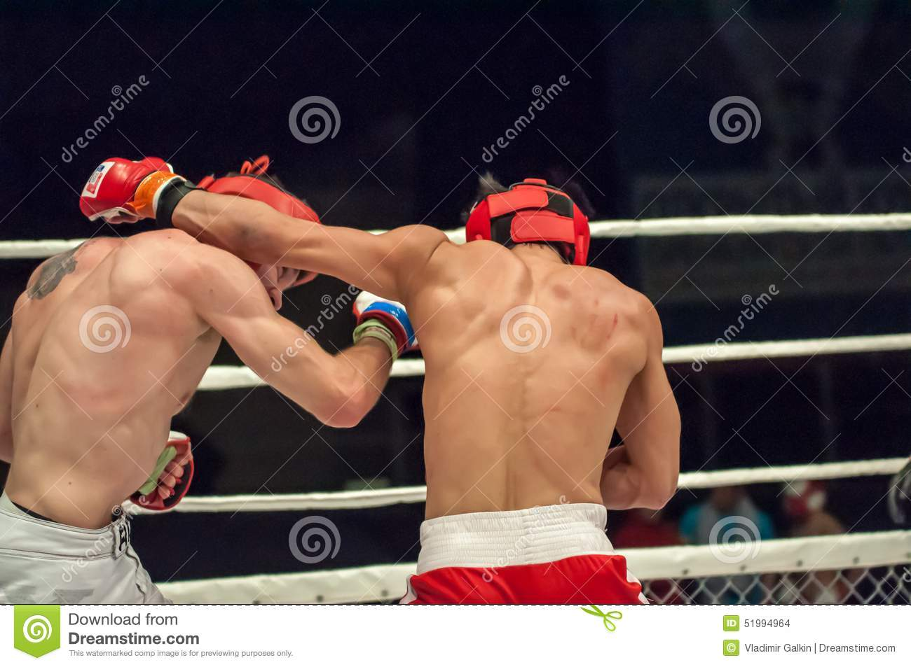Fights Without Rules Or MMA Editorial Stock Image - Image of