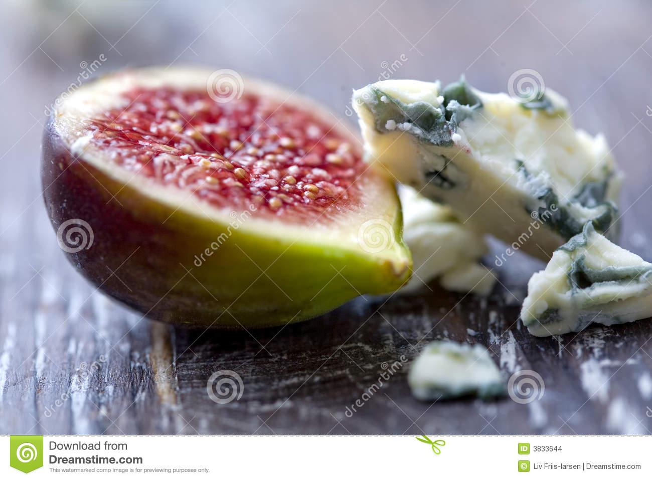 Figs And Cheese Stock Images - Image: 3833644