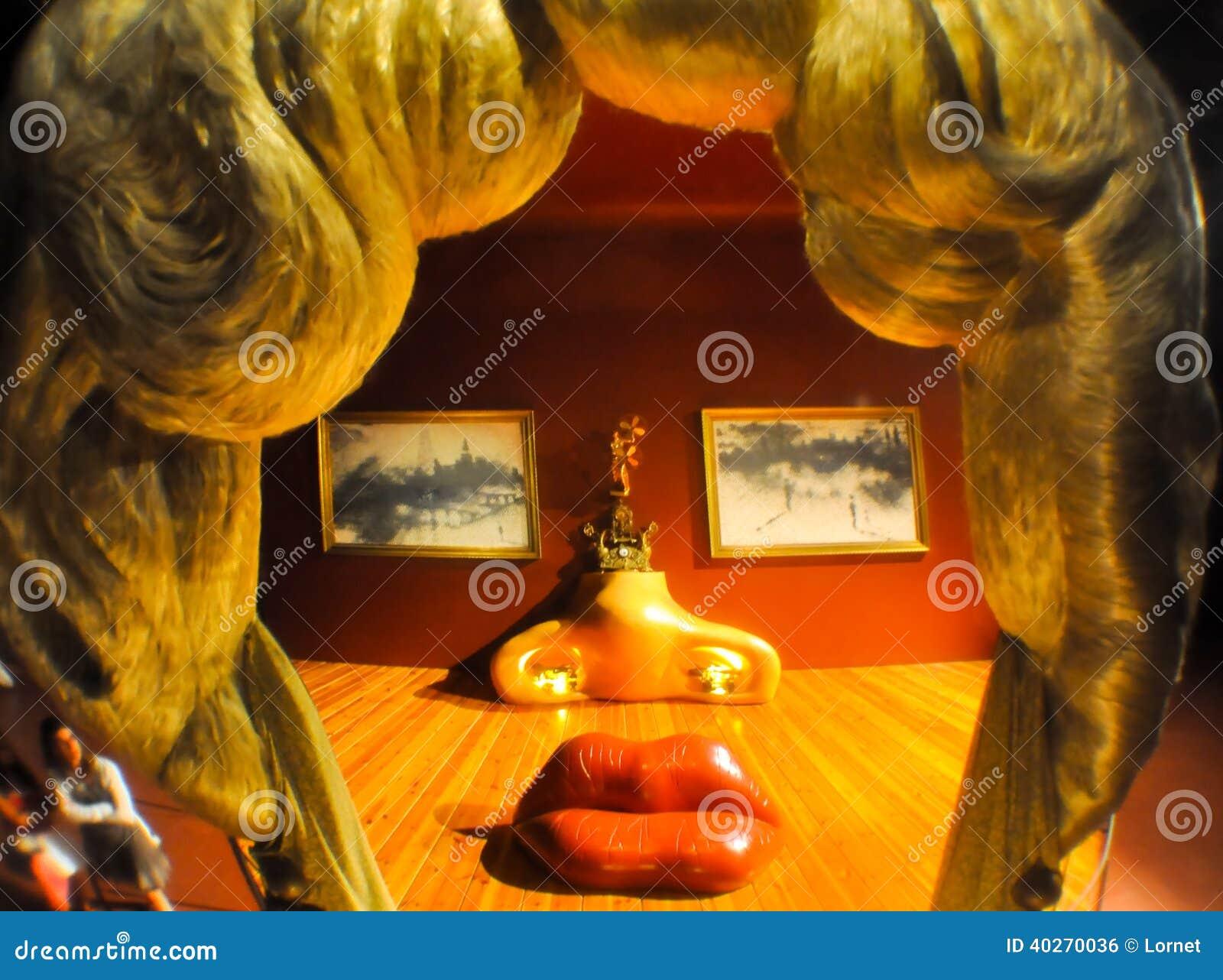 figueres espagne 6 ao 219 t la salle de mae west en dali theatre en ao 251 t 6 2009 224 figueres photo