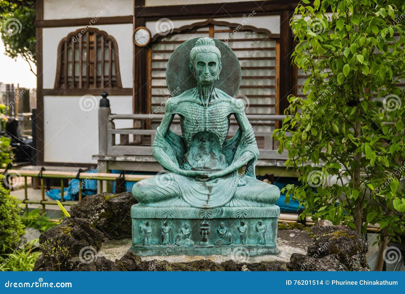 Figura de Buddha que se sienta
