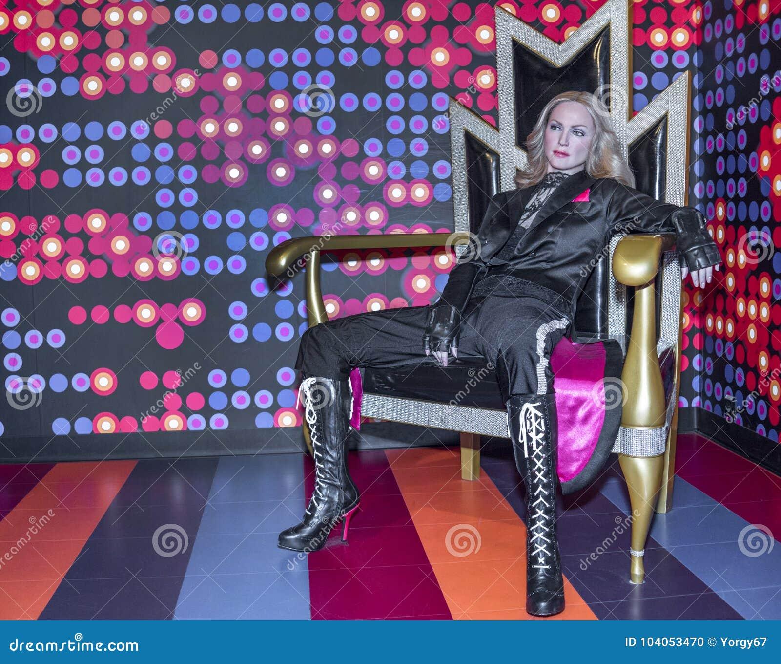 Figura de cera de Madonna