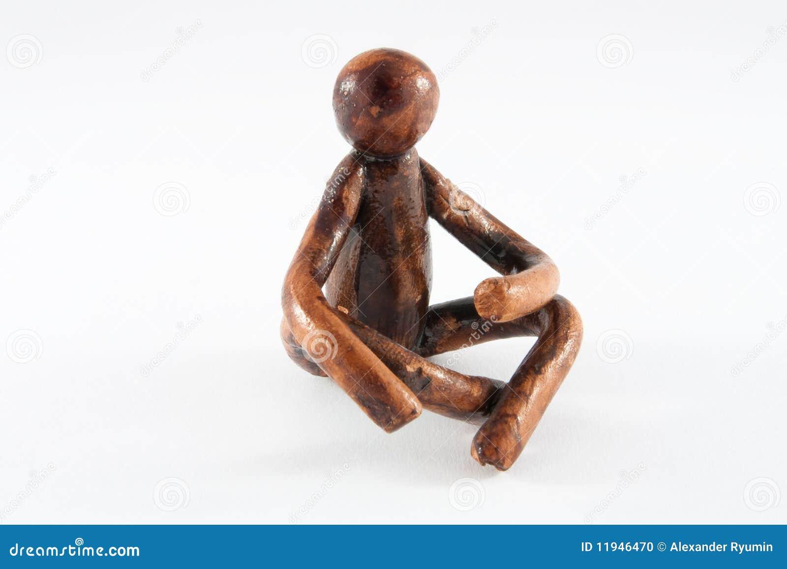 Figura della persona di seduta