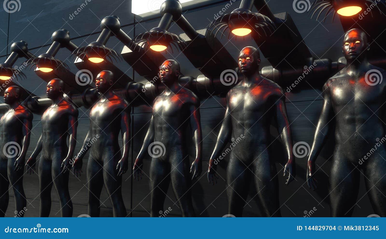 Figura di clonazione di umanoide