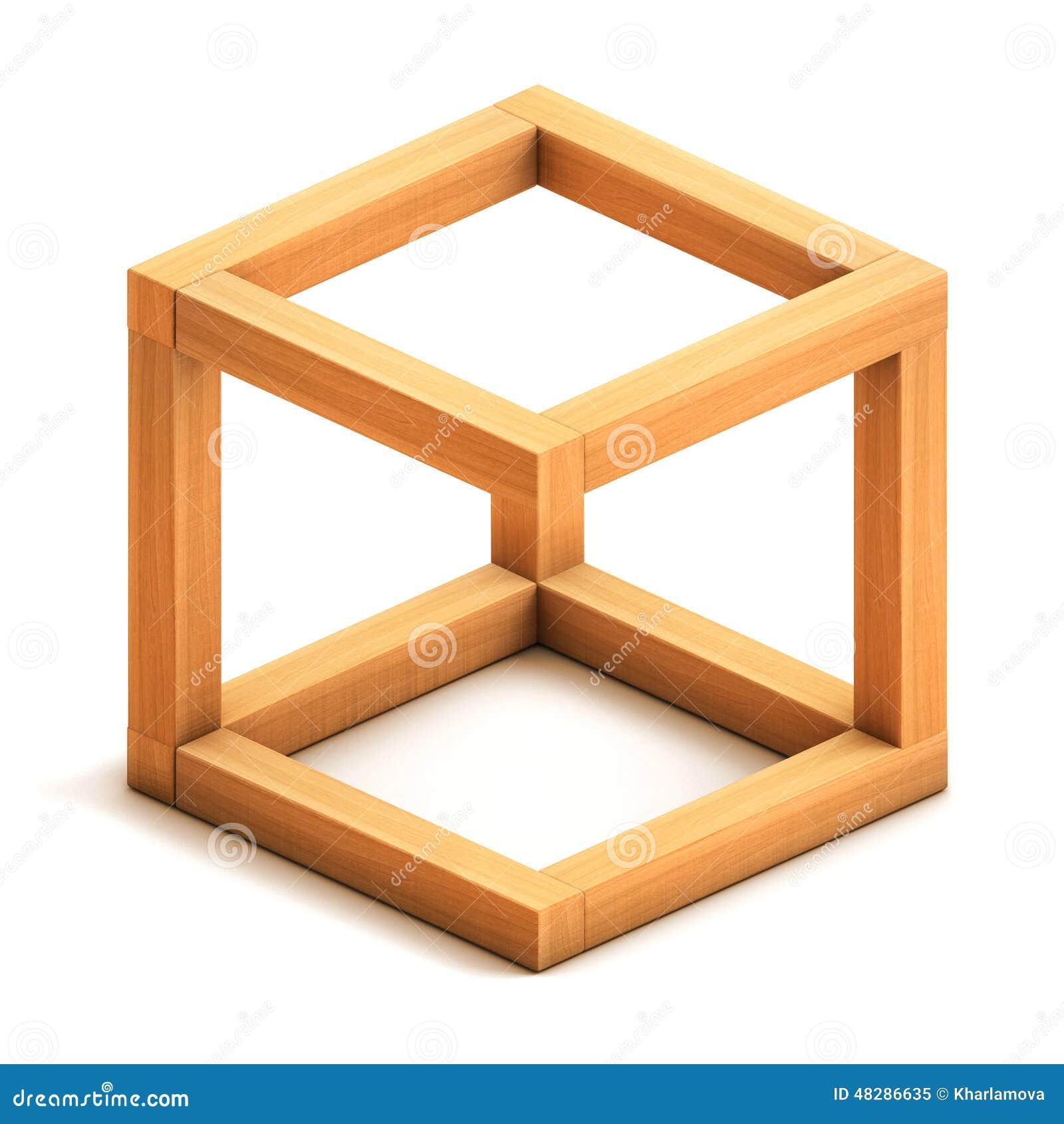 Figura geom trica imposible stock de ilustraci n imagen - Figuras geometricas imposibles ...