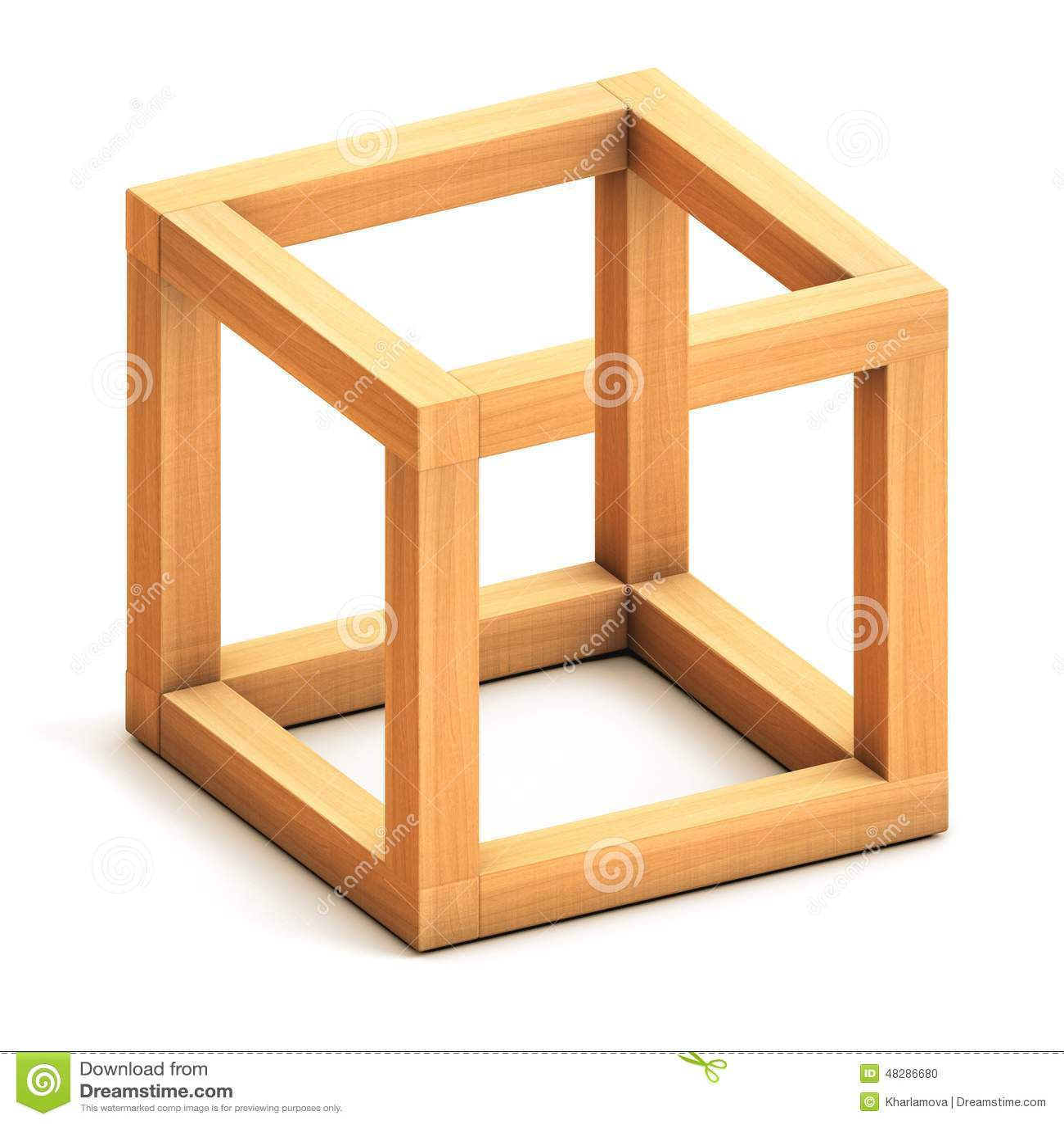 Figura geometrica impossibile illustrazione di stock - Figuras geometricas imposibles ...