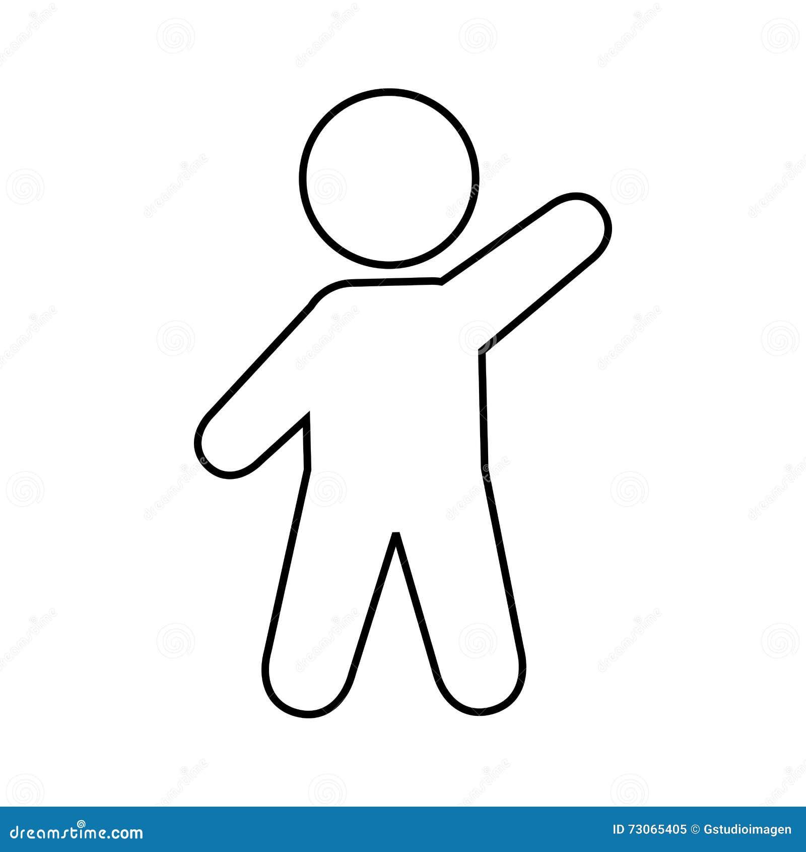 figura humana diseño de la silueta imagen de archivo imagen de