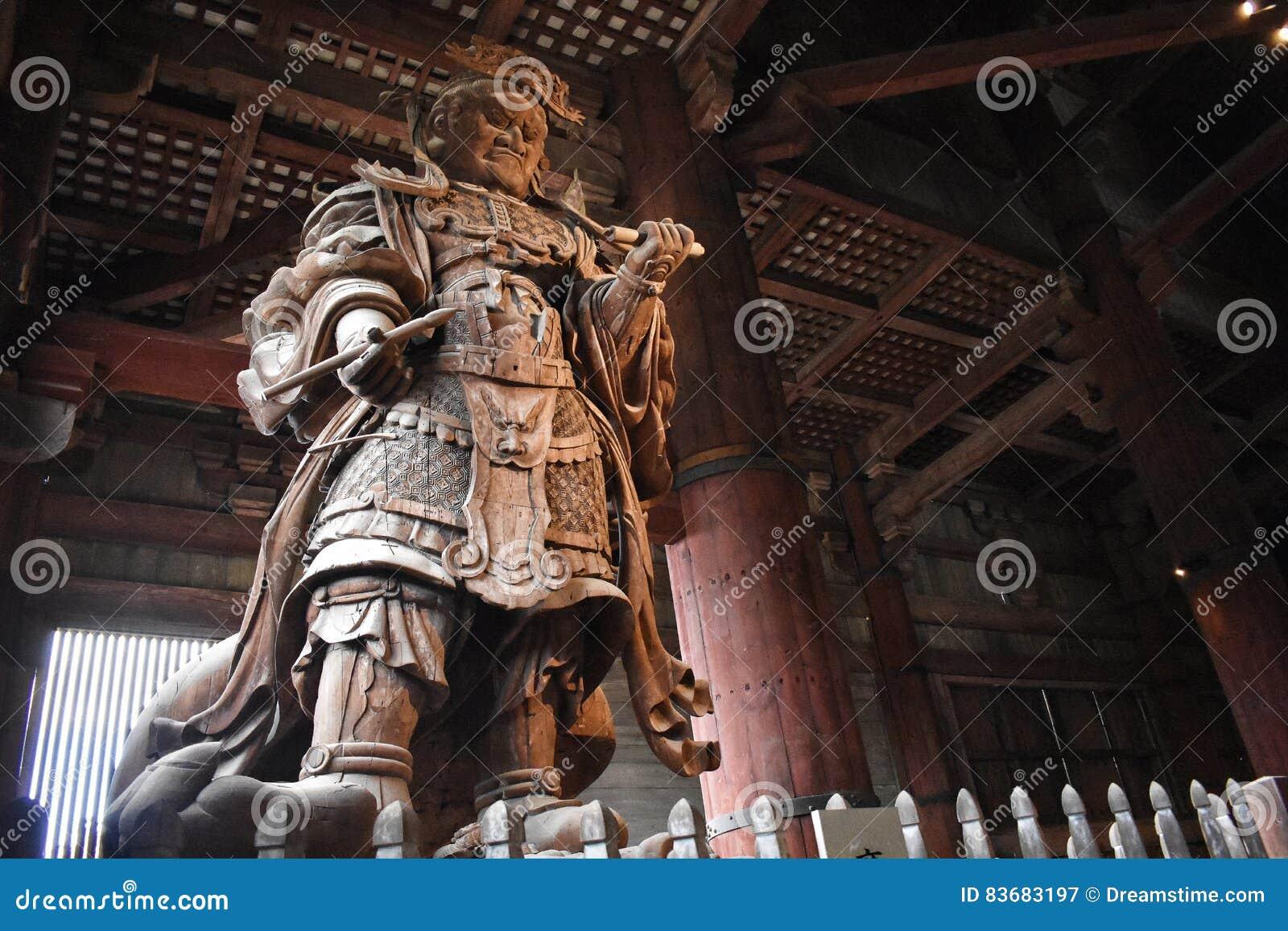 Budas Japoneses Cool Figura Japonesa Del Guerrero Que Protege A