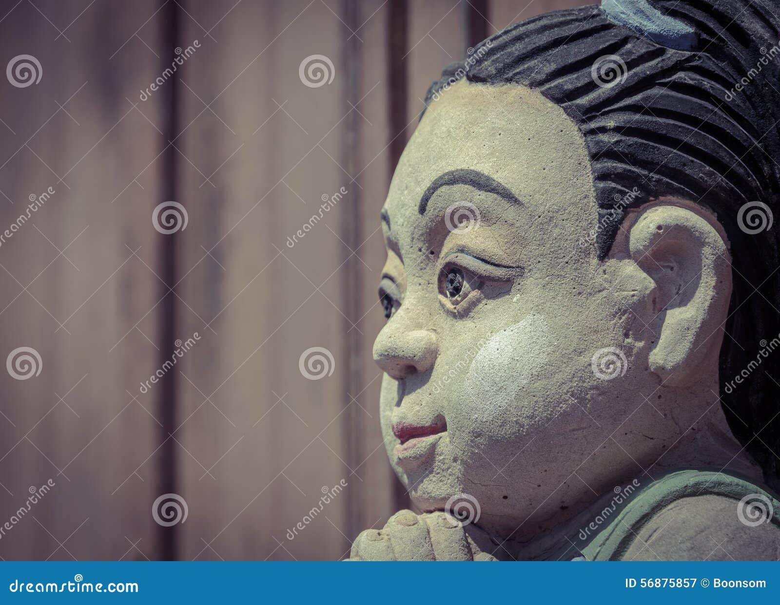 Figura tailandese del bambino