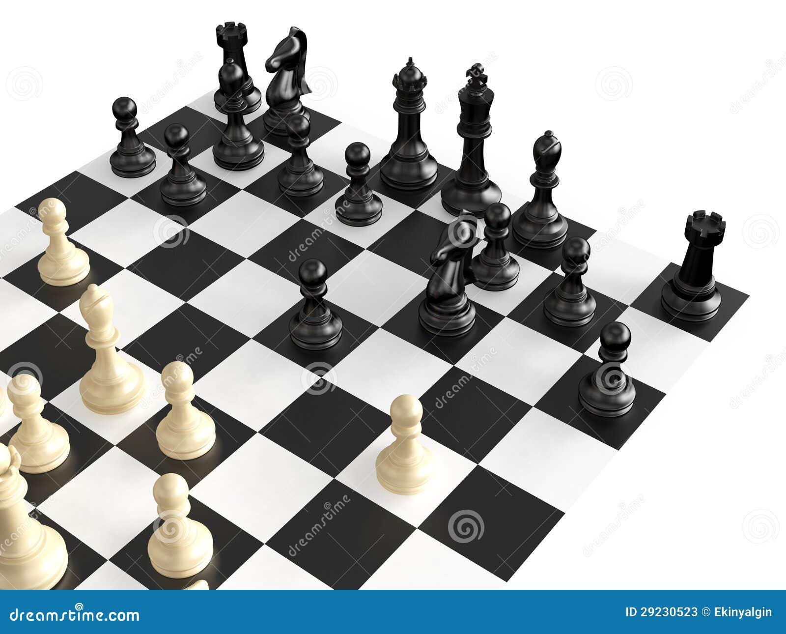 Download Figuras e placa da xadrez ilustração stock. Ilustração de bishop - 29230523