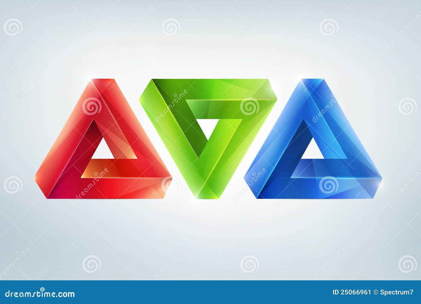 Figuras imposibles ilustraci n del vector ilustraci n de - Figuras geometricas imposibles ...