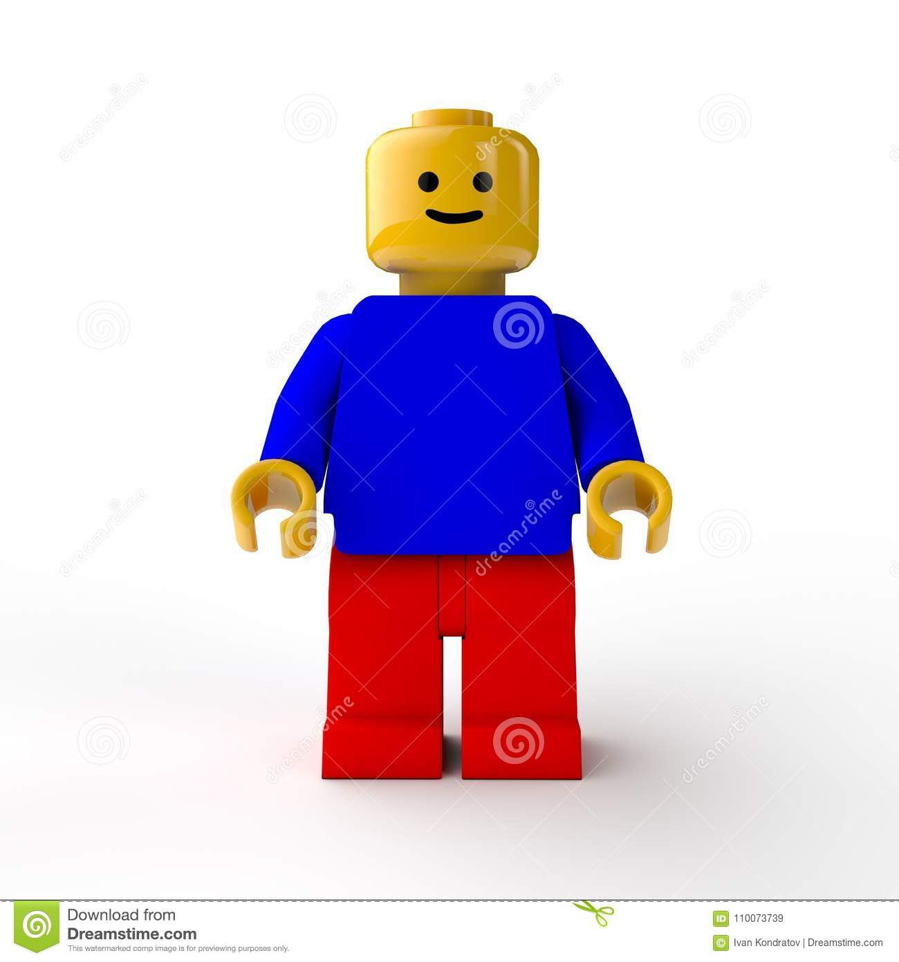 Figure LEGO, the toy.