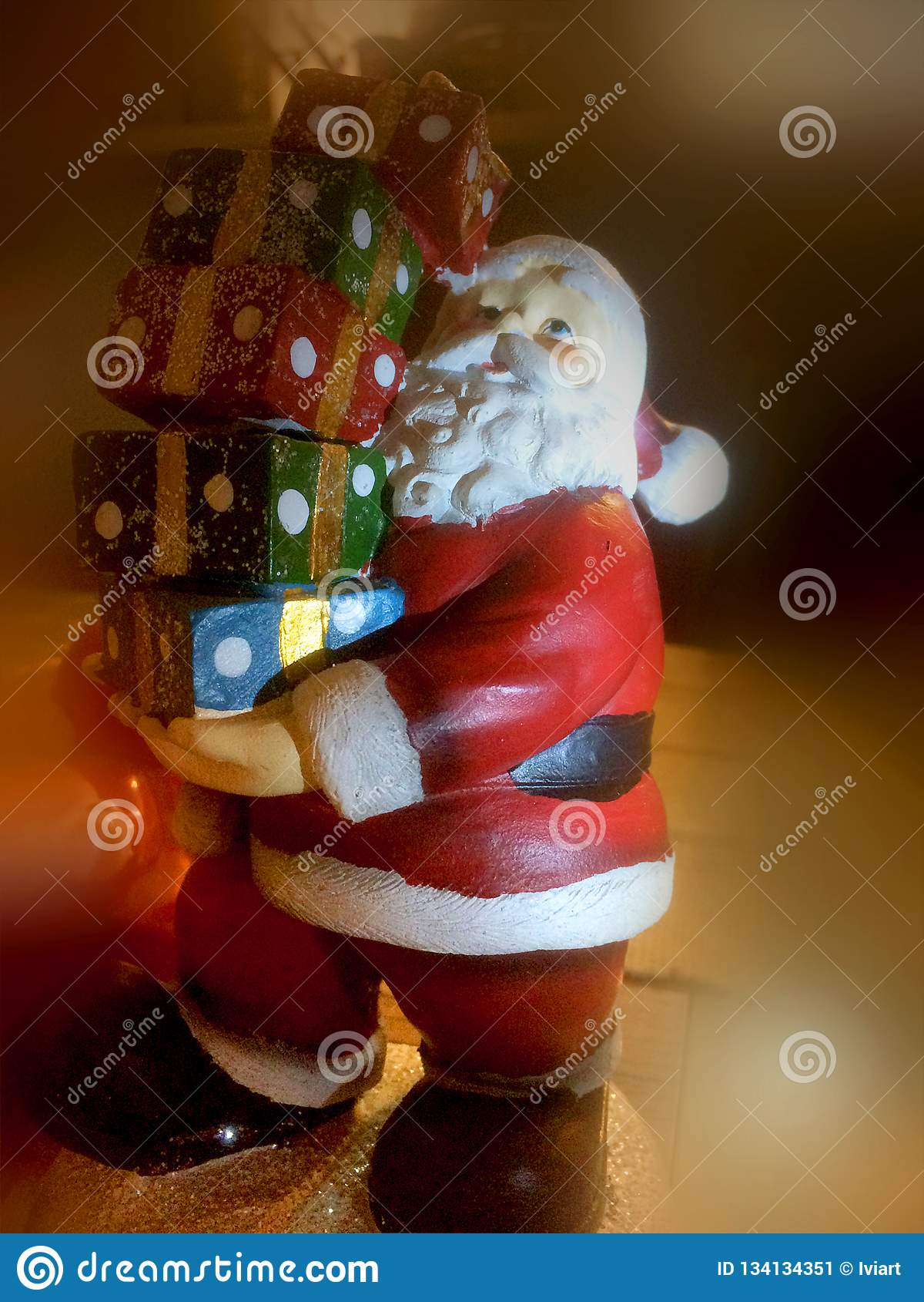 Figurilla de Papá Noel
