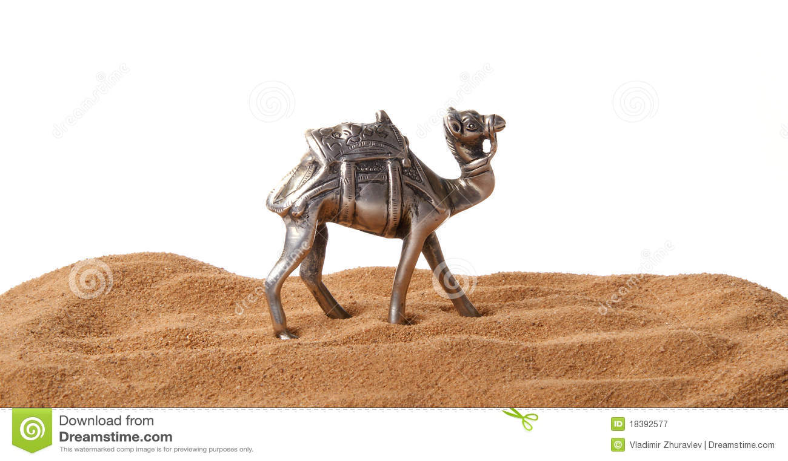 Figurine верблюда сделал сувенир металла