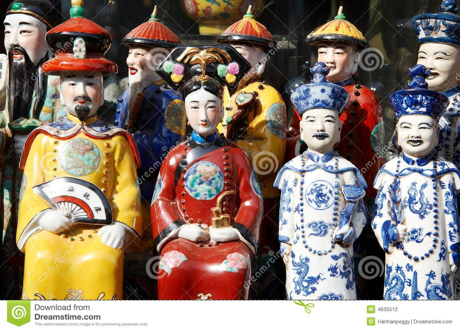 Figurine chinês da porcelana