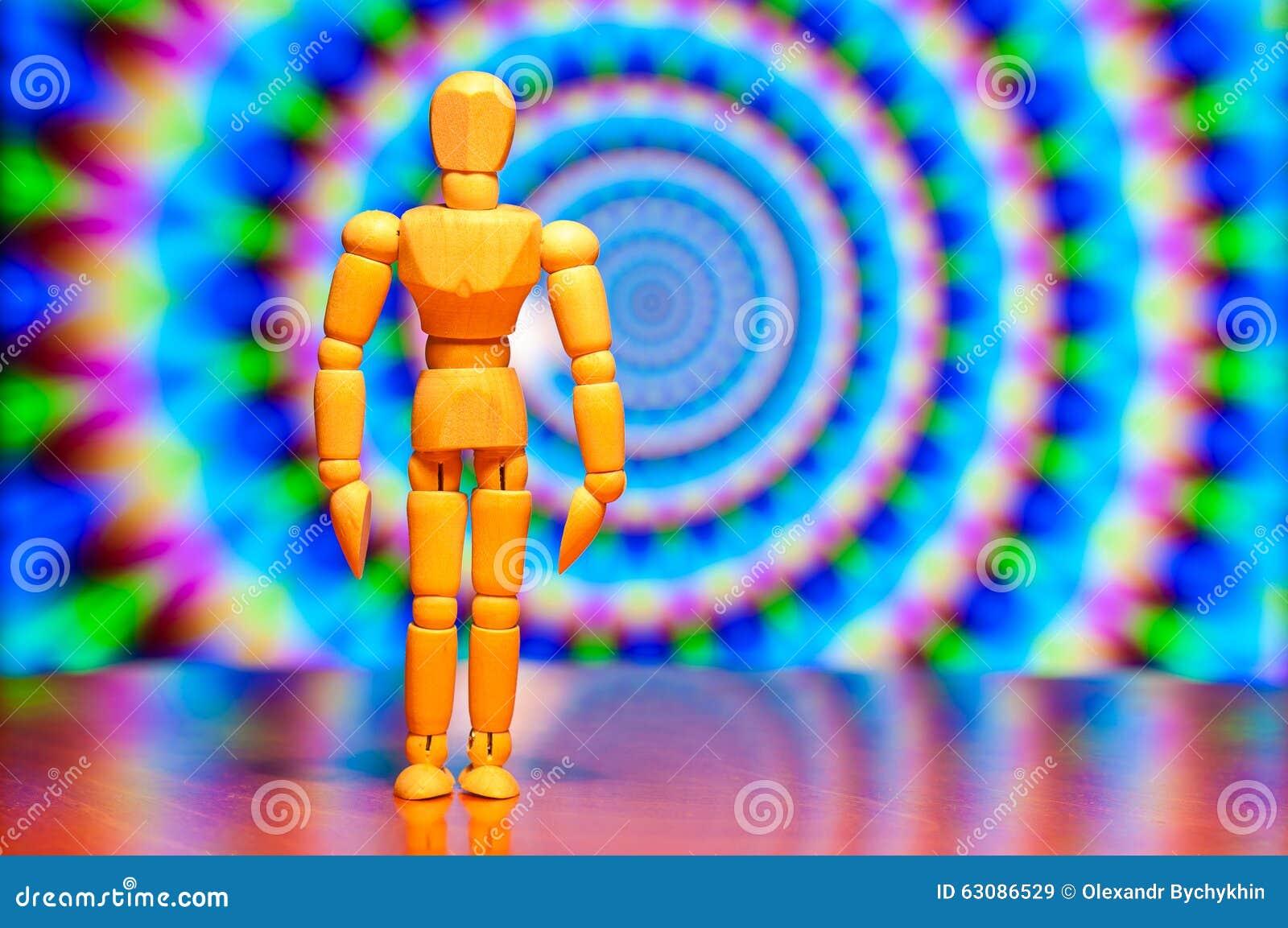 Download Figurine En Bois De Muet, De Mannequin Ou D'homme Image stock - Image du magie, homme: 63086529