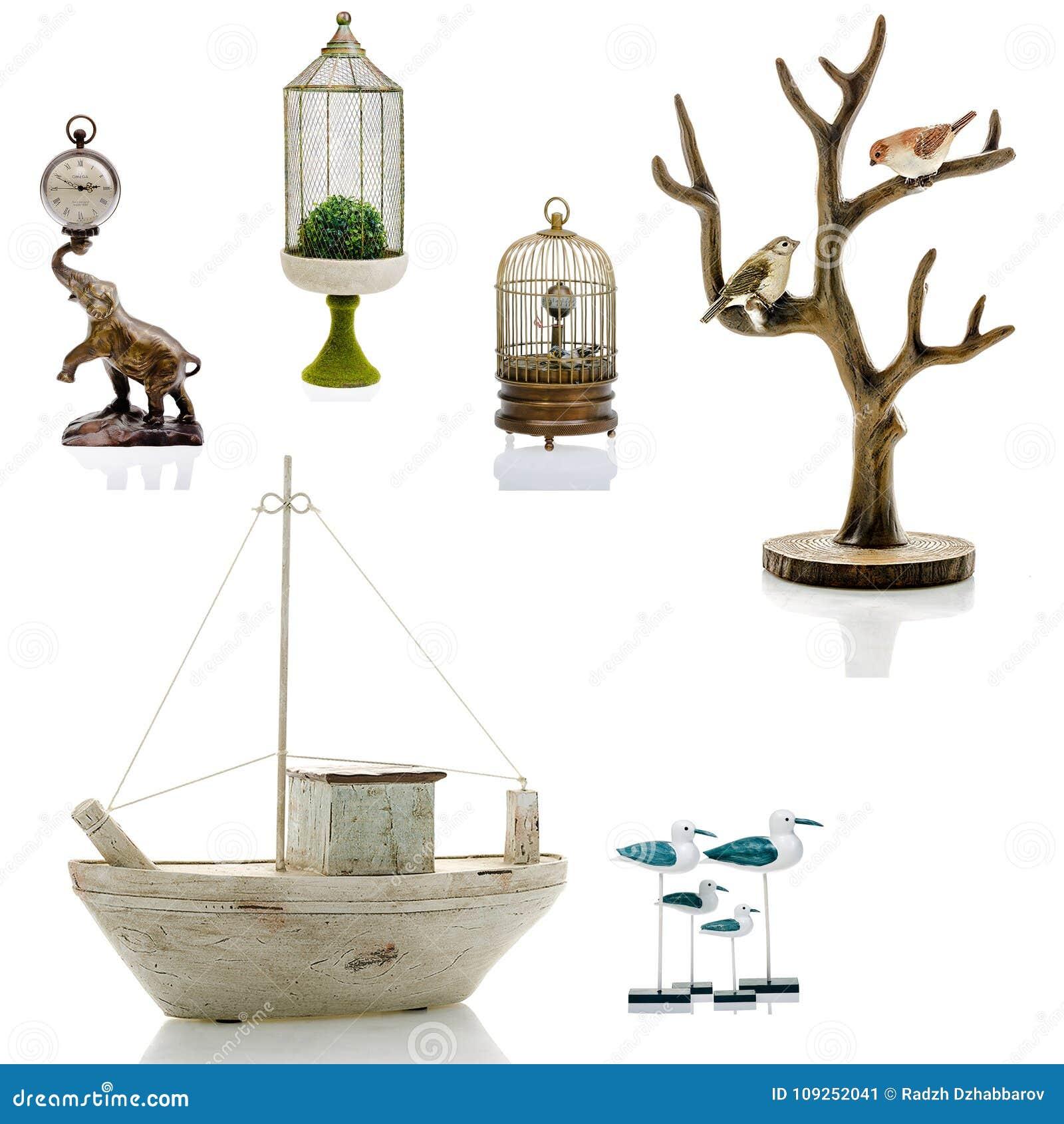 Figurines décoratives, statuette, accessoires pour un intérieur