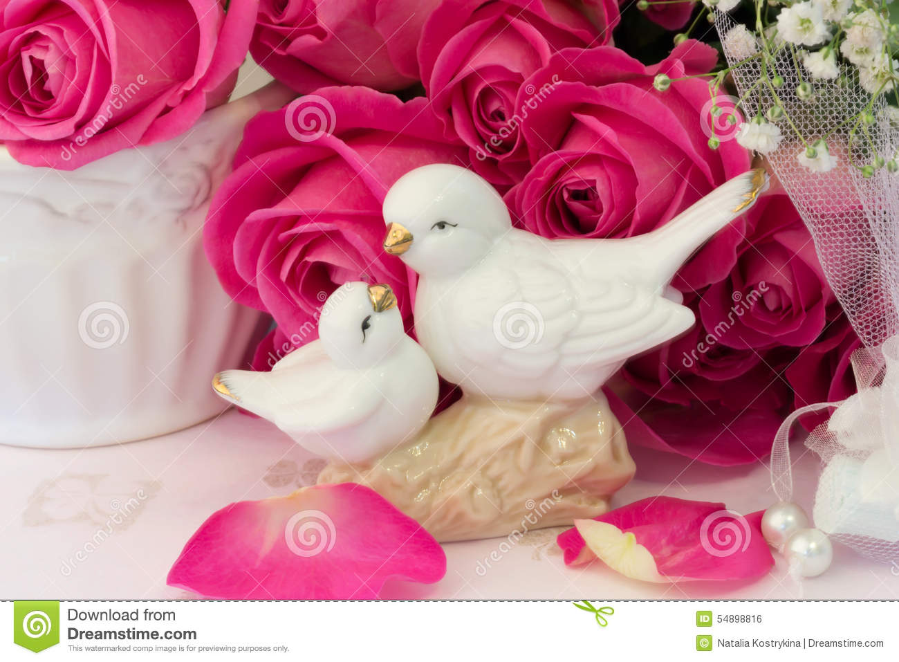 Wedding Doves Stock Images - Download 545 Photos