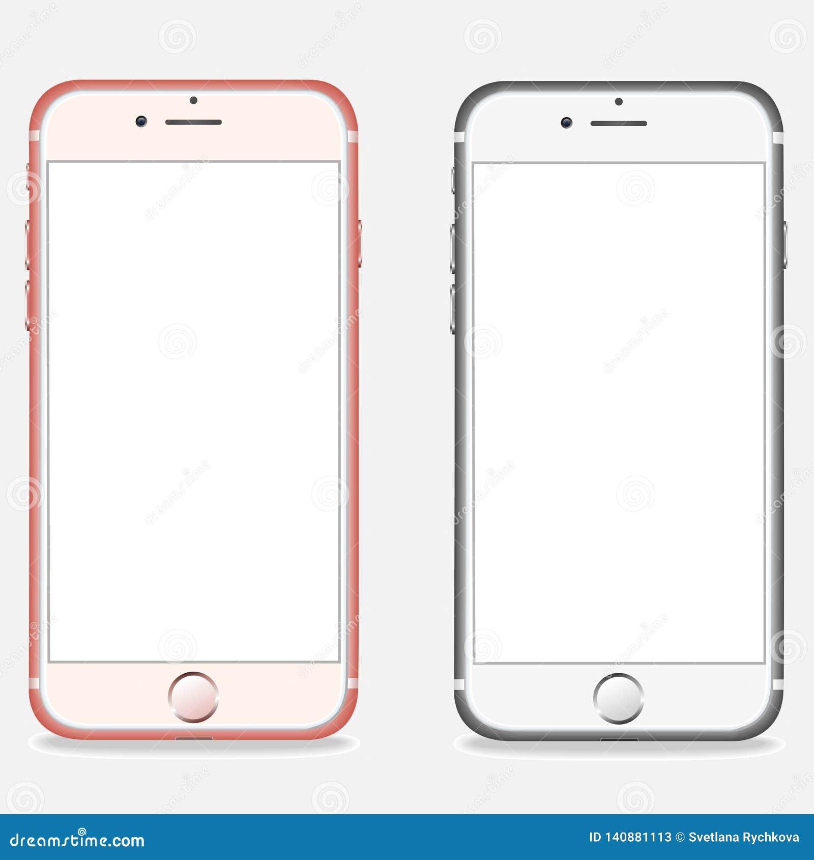 Fije de disposiciones realistas de los smartphones
