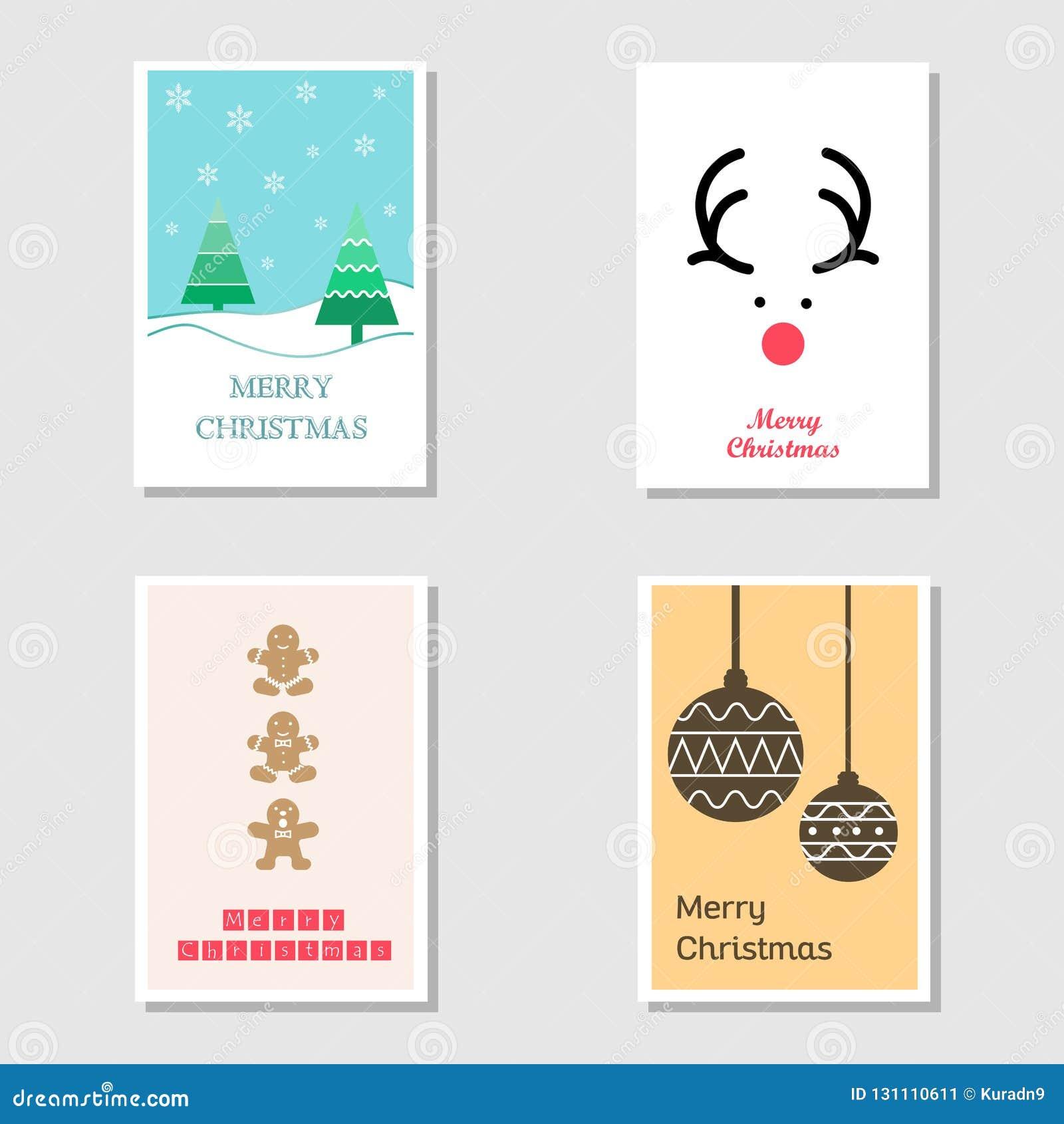 Fije De Tarjeta De Navidad Y De Tarjeta De La Invitación En