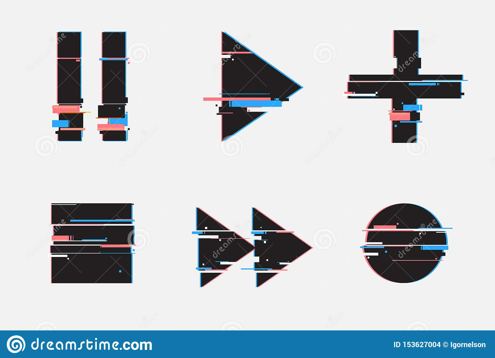 Fije del diseño mínimo abstracto de la plantilla para calificar, haciendo publicidad en estilo geométrico de la interferencia Jue