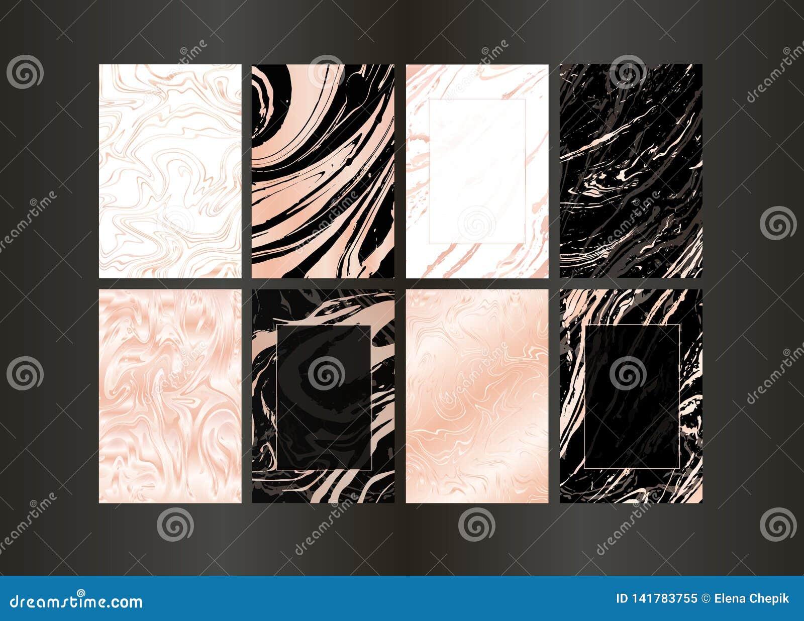 Fije del folleto negro del vector y del oro elegante, casandose la tarjeta de la invitación, fondo, cubierta Plantilla del diseño