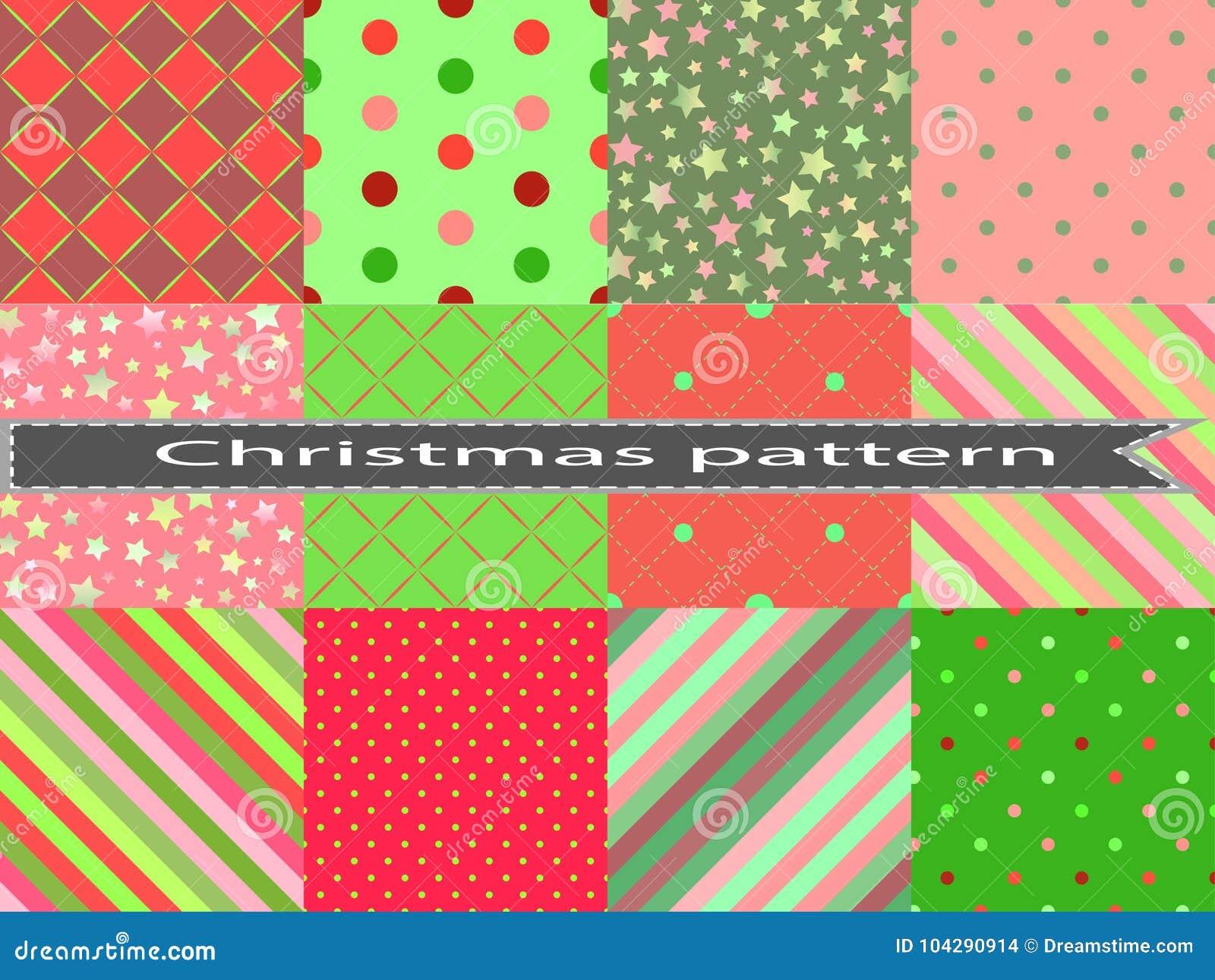 Fije el modelo inconsútil azul del invierno con los pequeños círculos y puntos para el diseño de la Navidad La Navidad