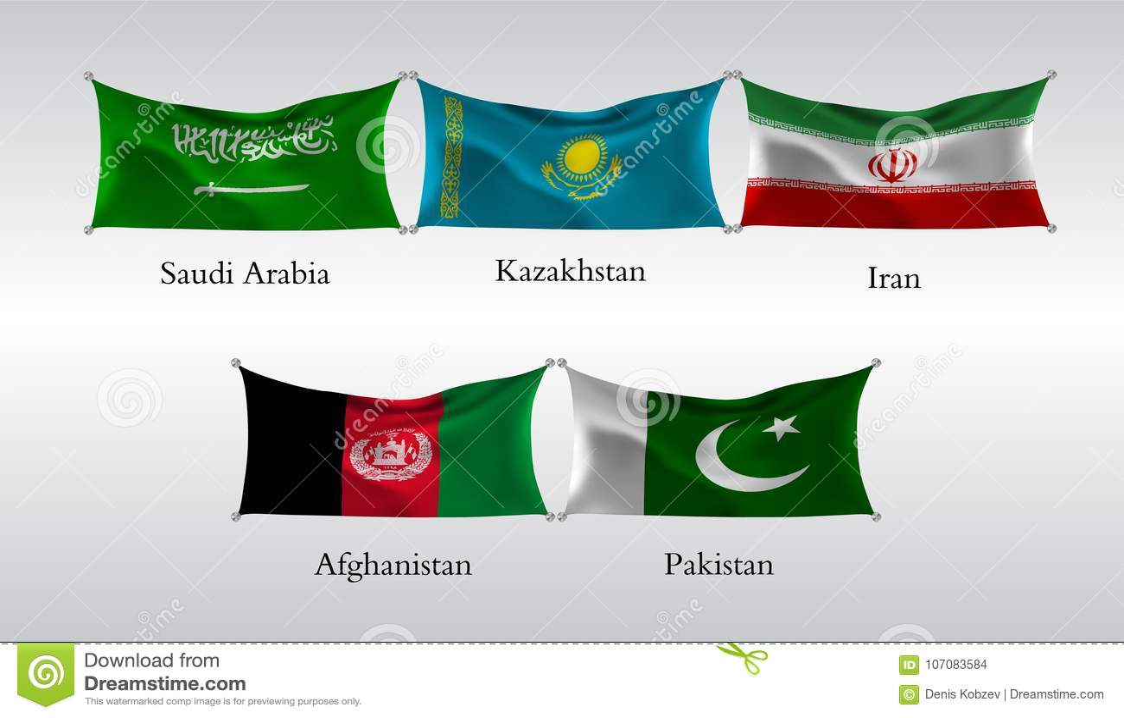 Contemporáneo Bandera De Afganistán Para Colorear Colorear Bandera ...