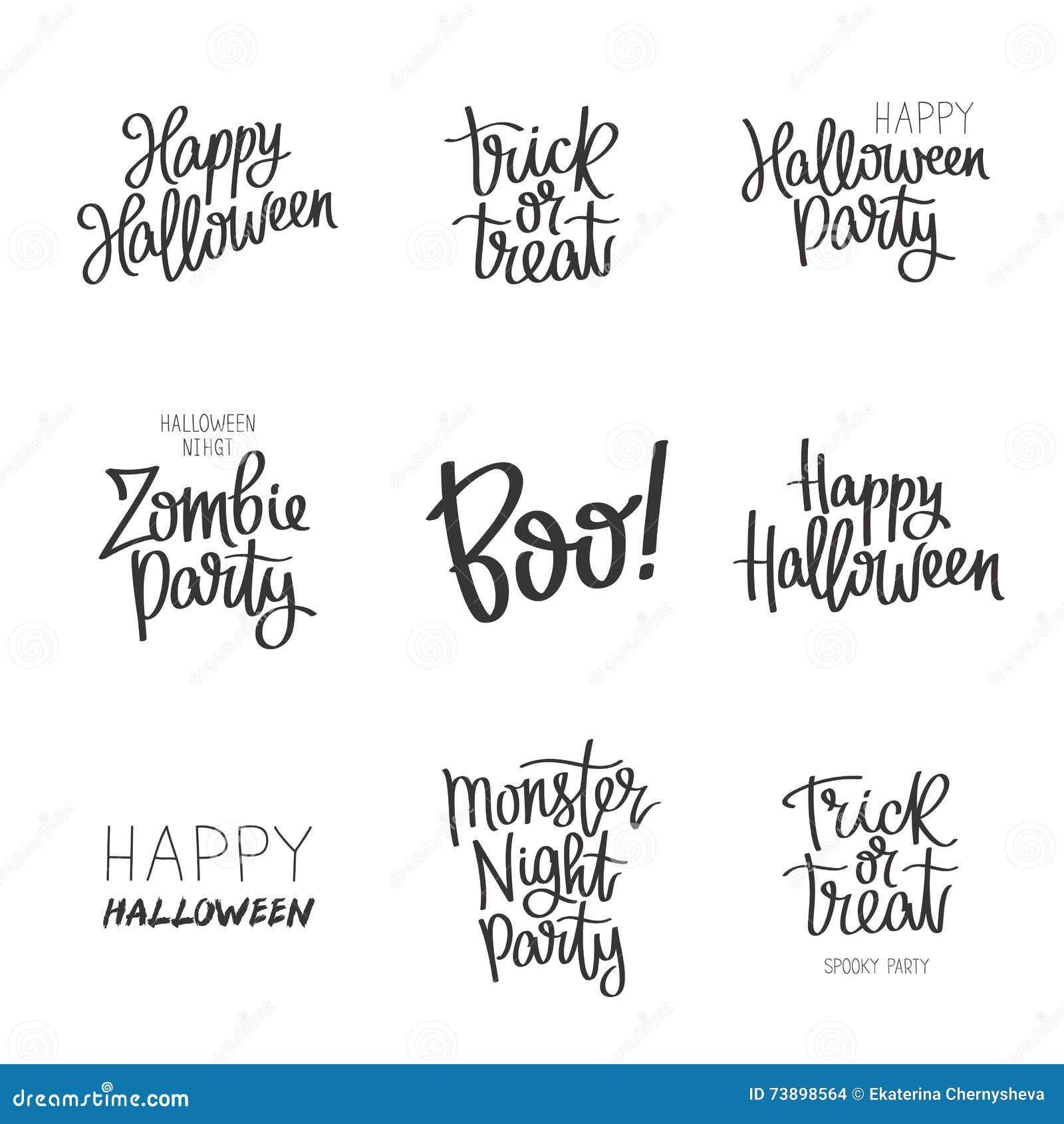 Fije las citas en Halloween