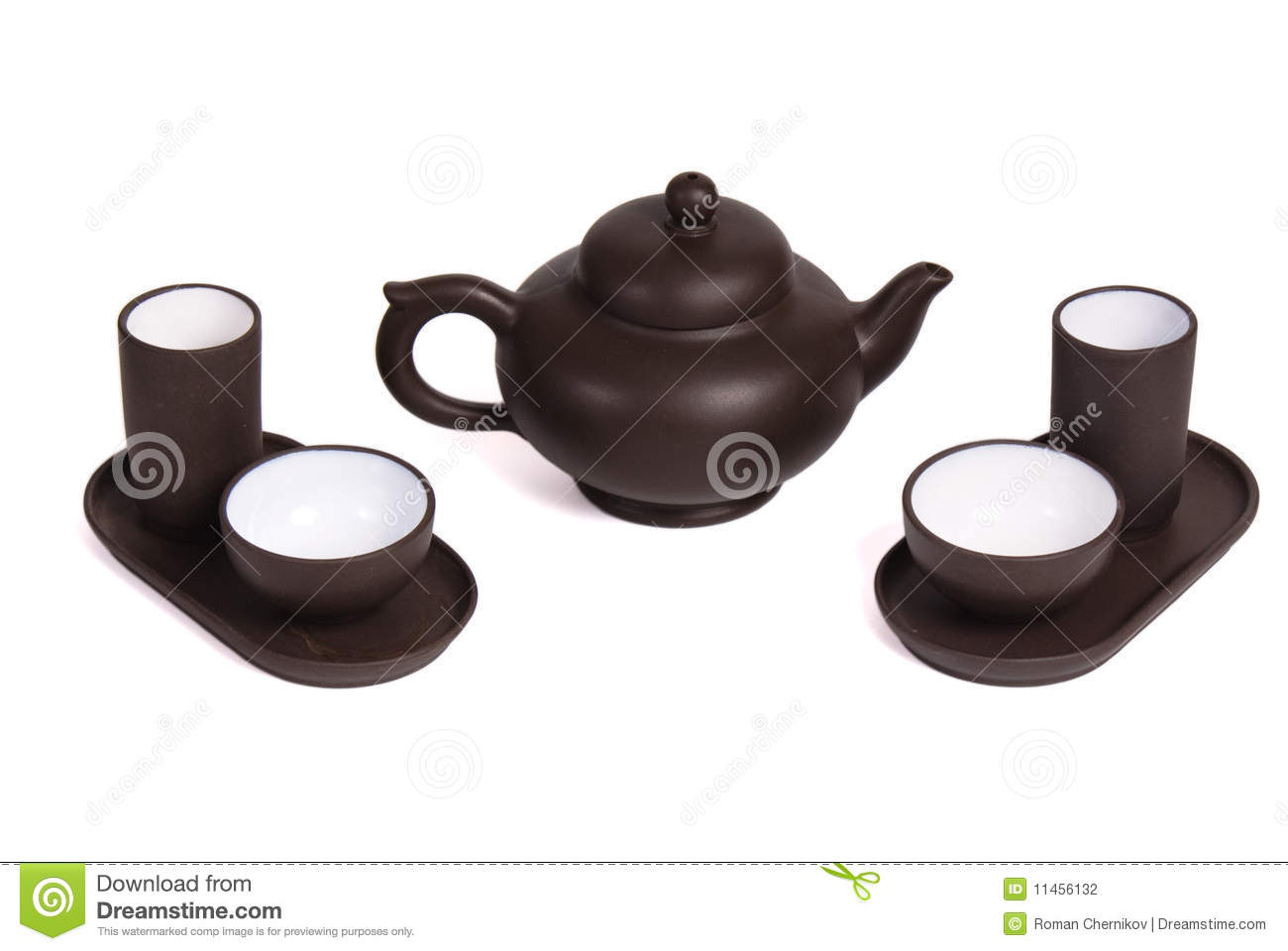 Fije para la ceremonia de té china