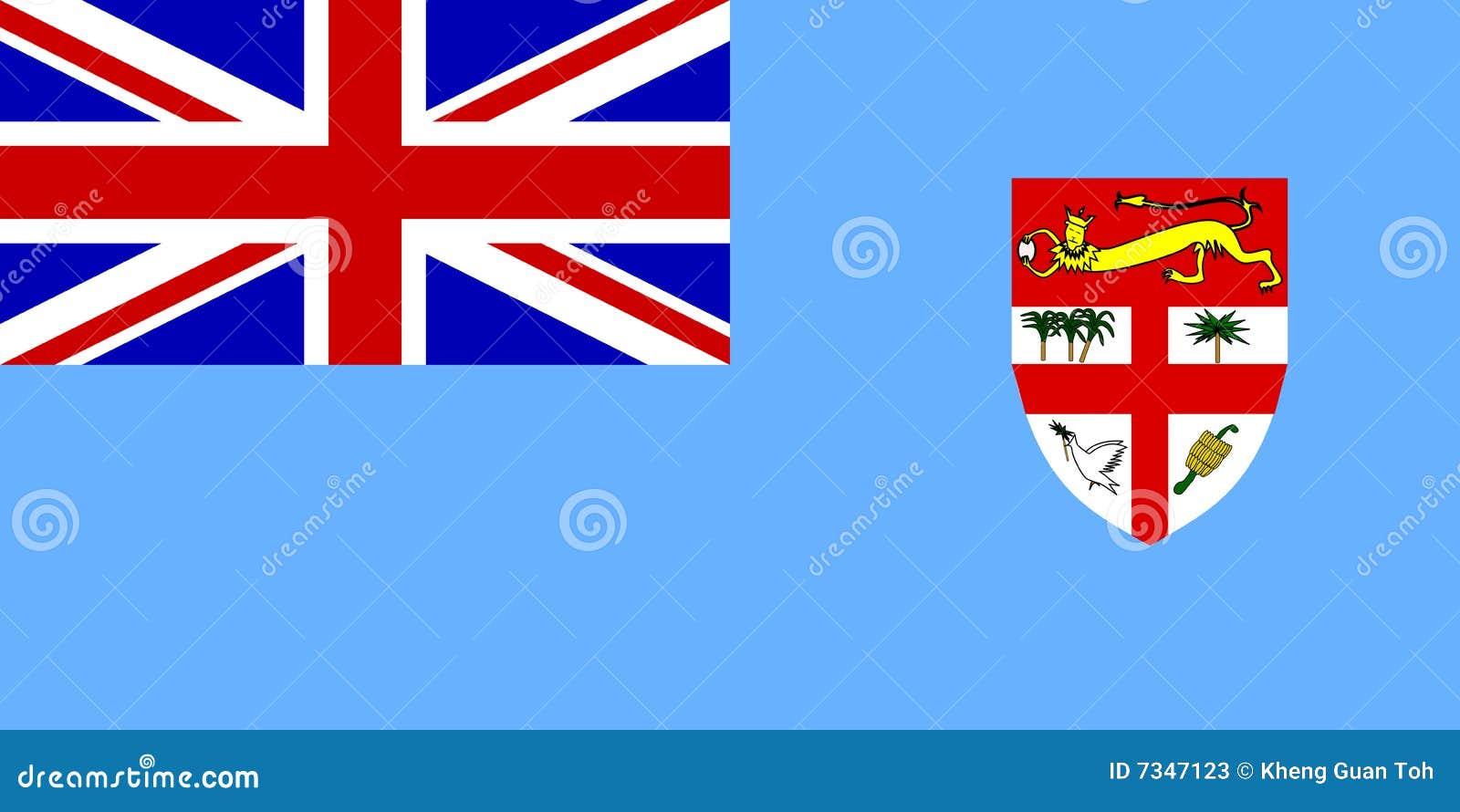 Fiji flagga
