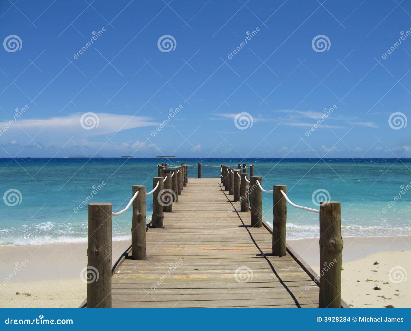 Fiji pier