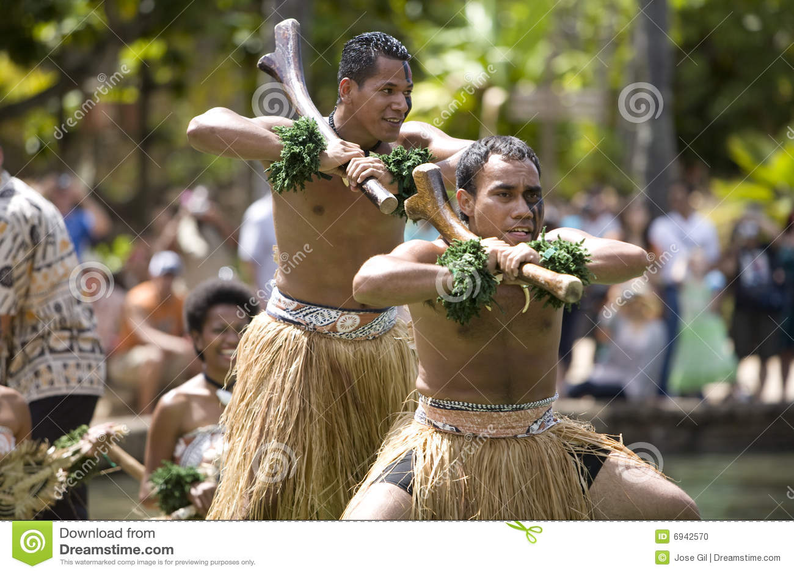 Fijian-Tänzer 1587