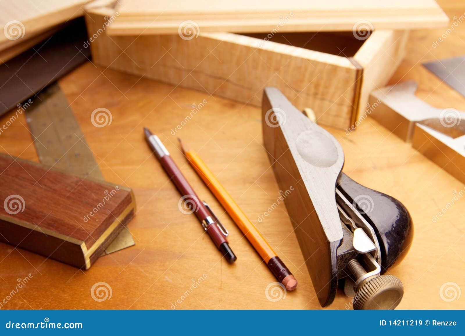 Fijne houtbewerking stock afbeelding afbeelding bestaande - Materiales de carpinteria ...