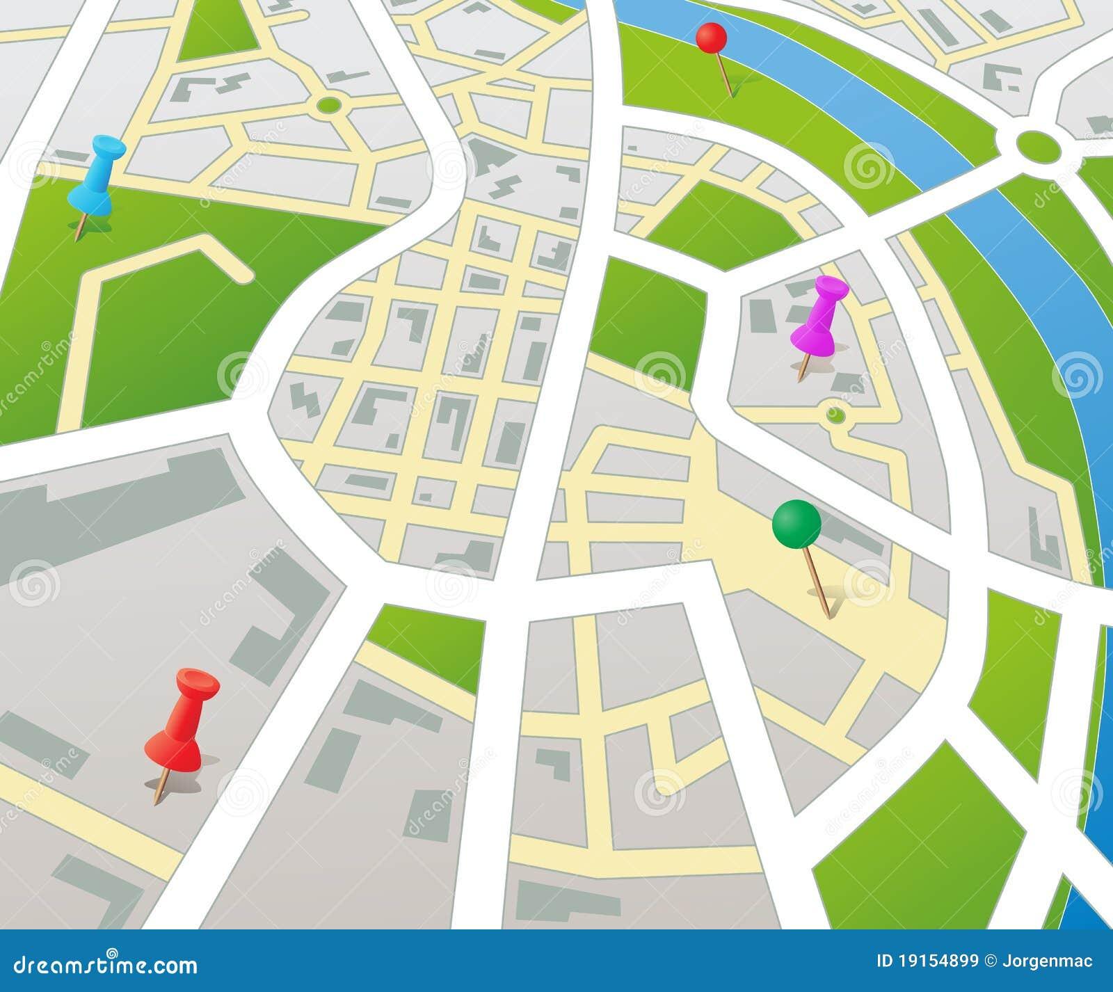 Template Plan De Ville