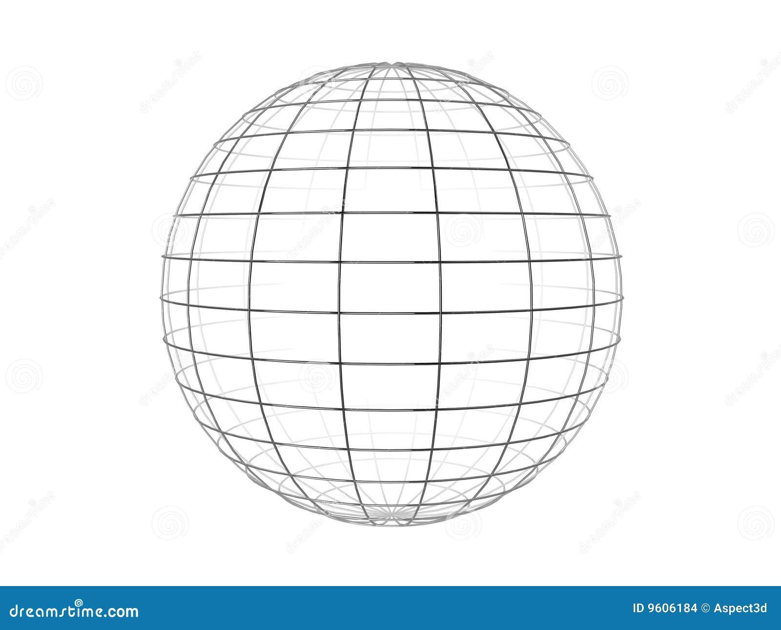Fil de sphère de trame
