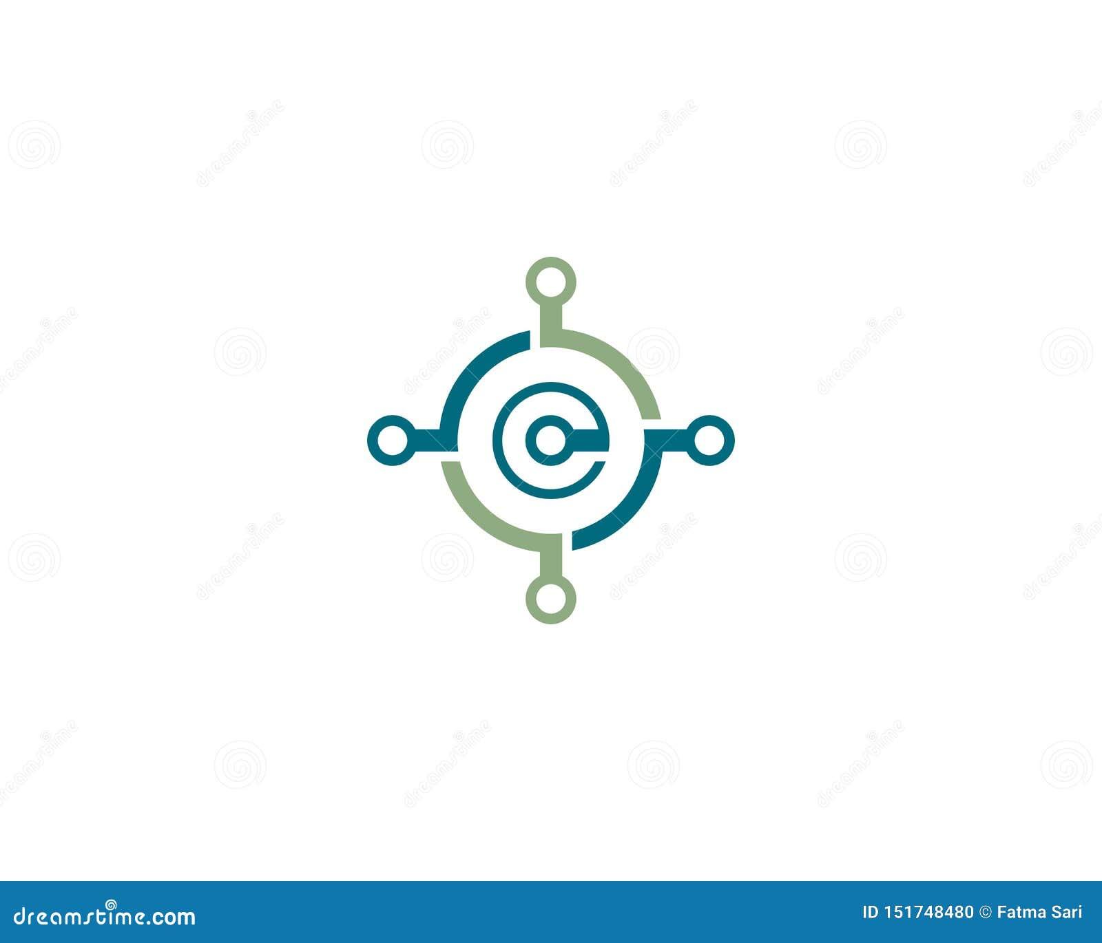 Fil, icône de logo de câble