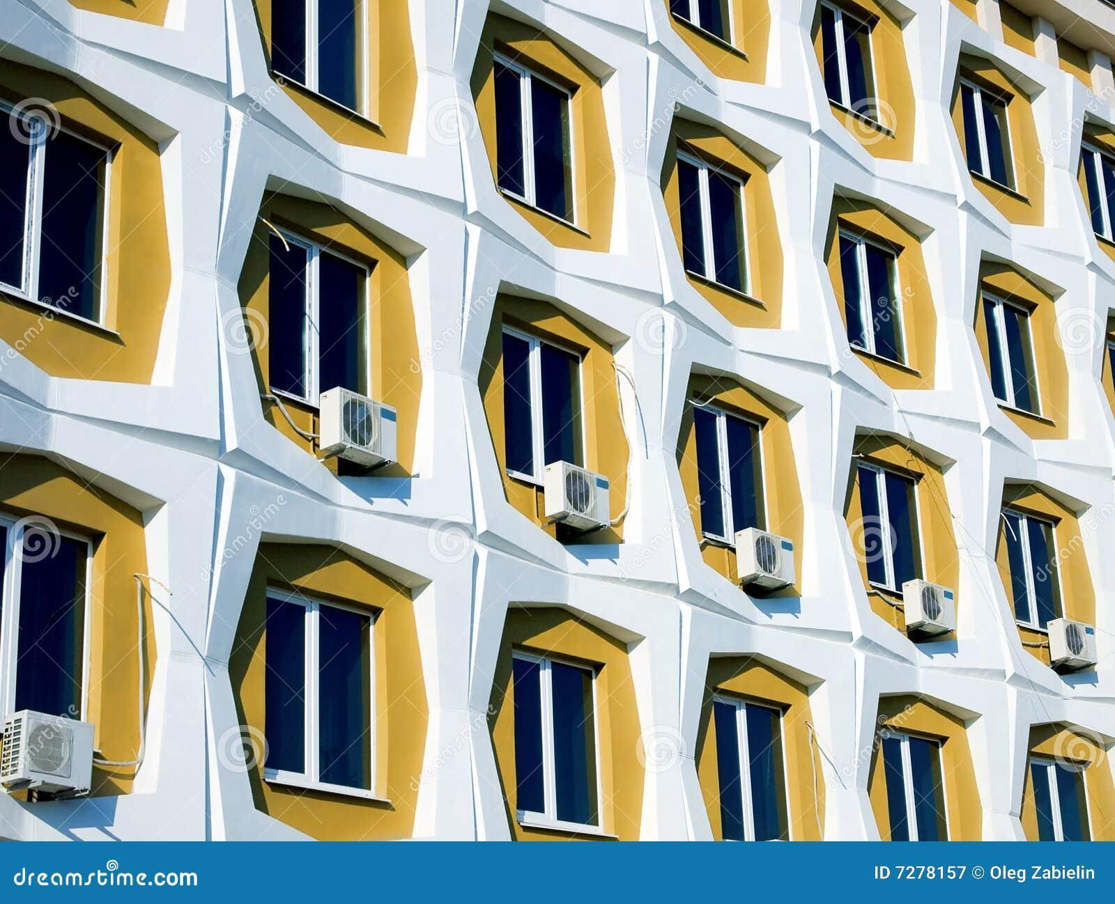 Fila de ventanas