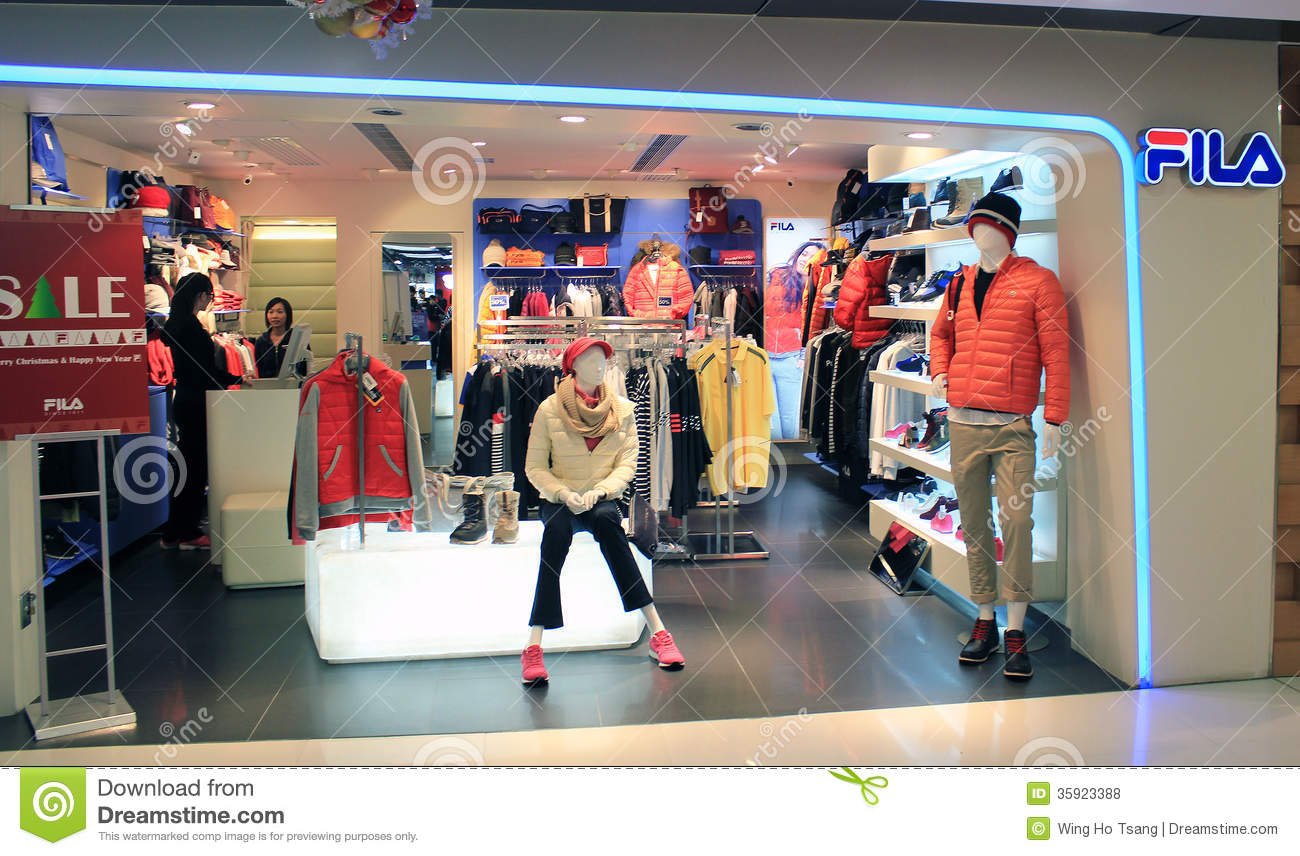 FILA shop in hong kong editorial stock photo. Image of kong - 35923388 c0ea7fae706a