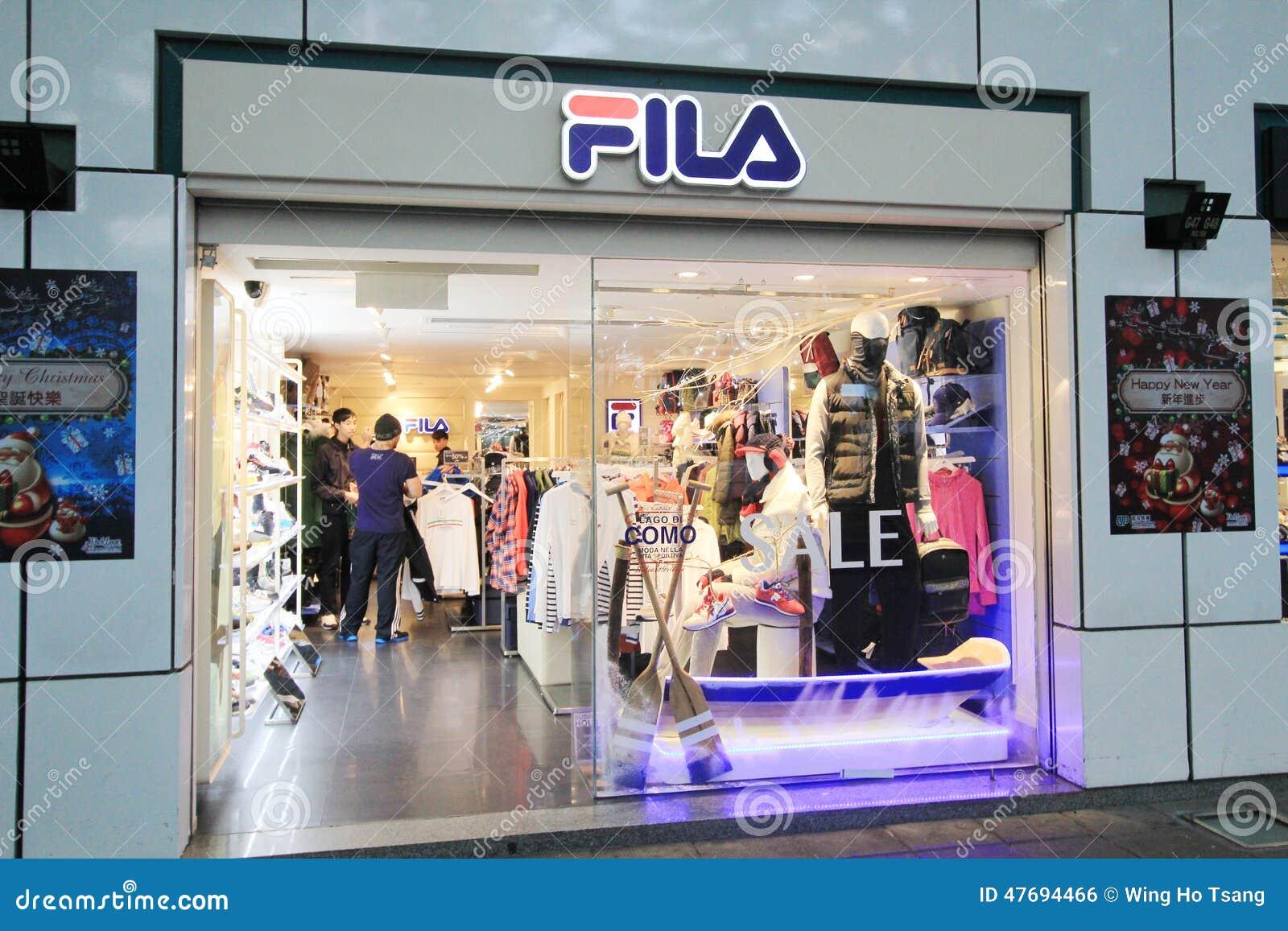 Fila shop in hong kveekoong