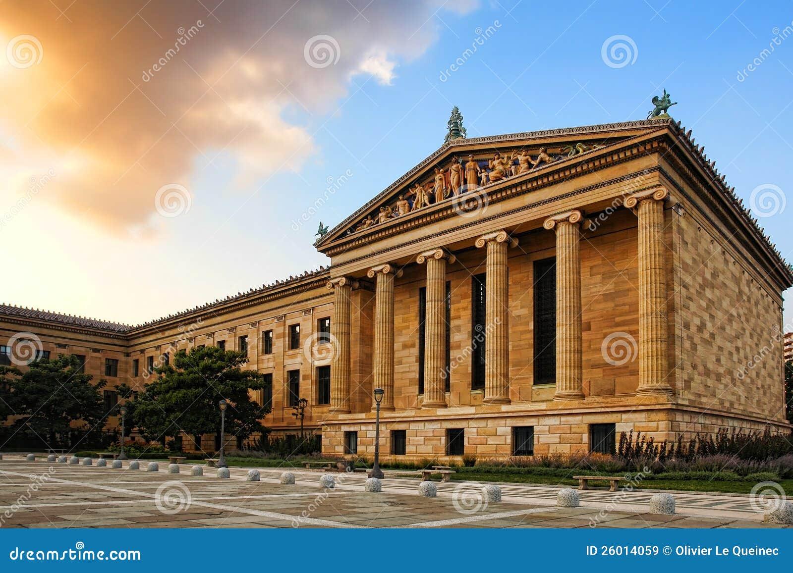 Filadelfia Muzeum Sztuki Północy Skrzydła Budynek