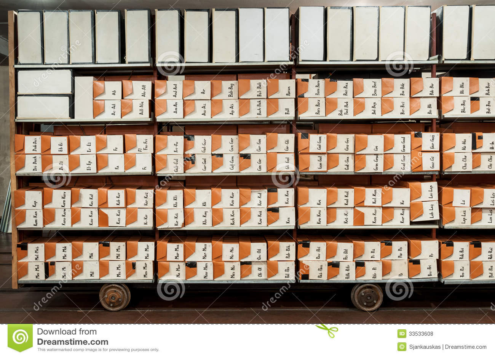 File di archiviazione