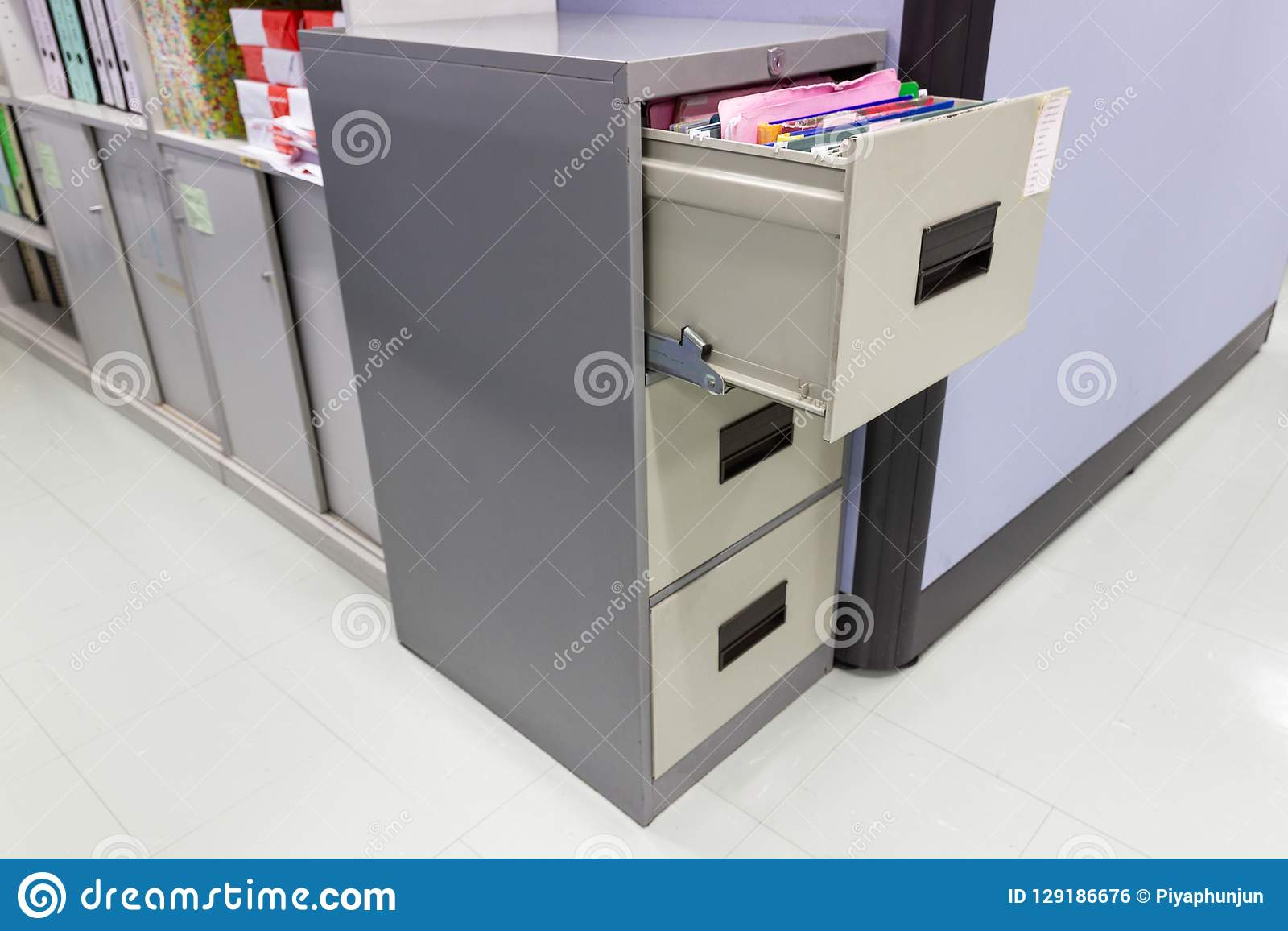 File folder documents In a file cabinet retention