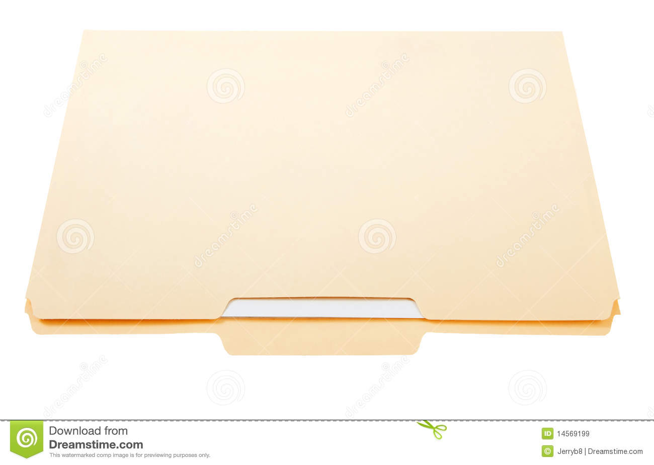 File Folder With Papers