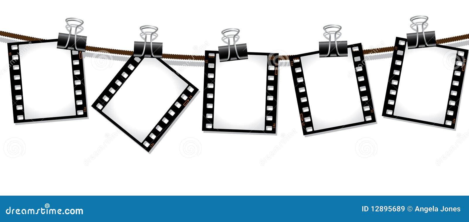 fileira de negativos de pel u00edcula ilustra u00e7 u00e3o do vetor film strip vector graphic free film strip vector cdr
