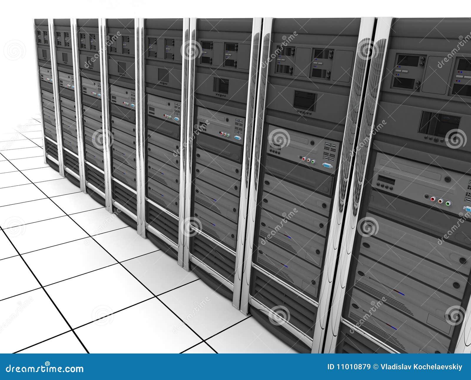 Fileira do Server-quarto