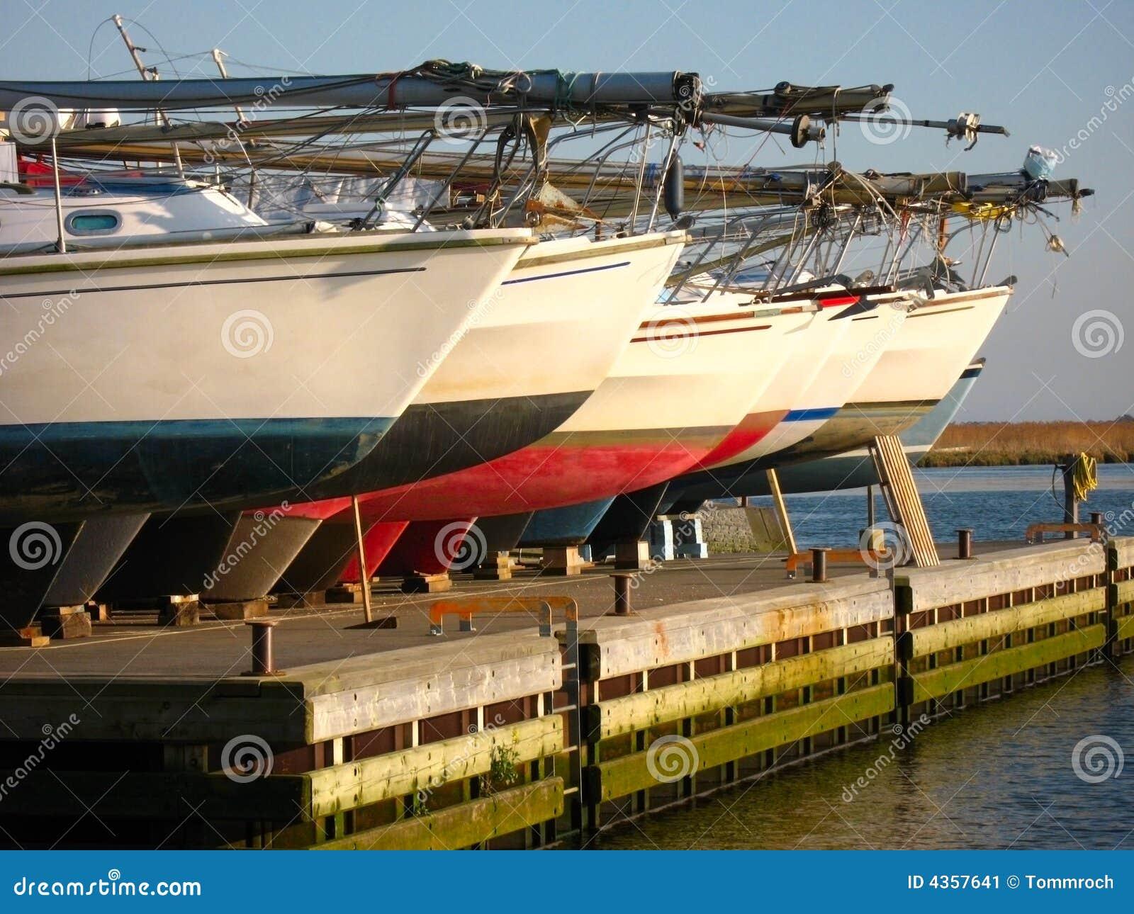 Fileira dos barcos